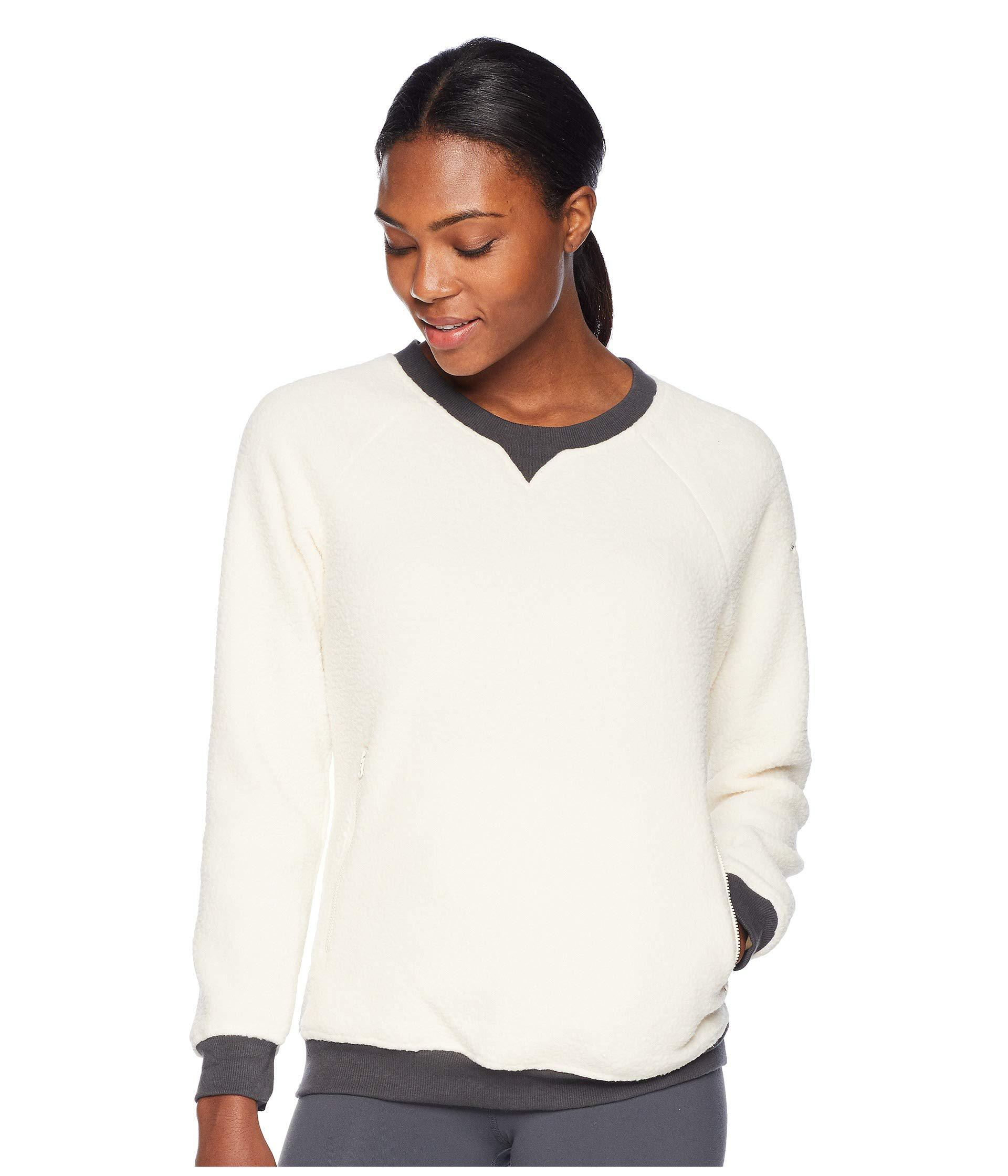 c0b0c0399ef Lyst - Columbia Feeling Frostytm Sherpa Pullover (light Bisque ...