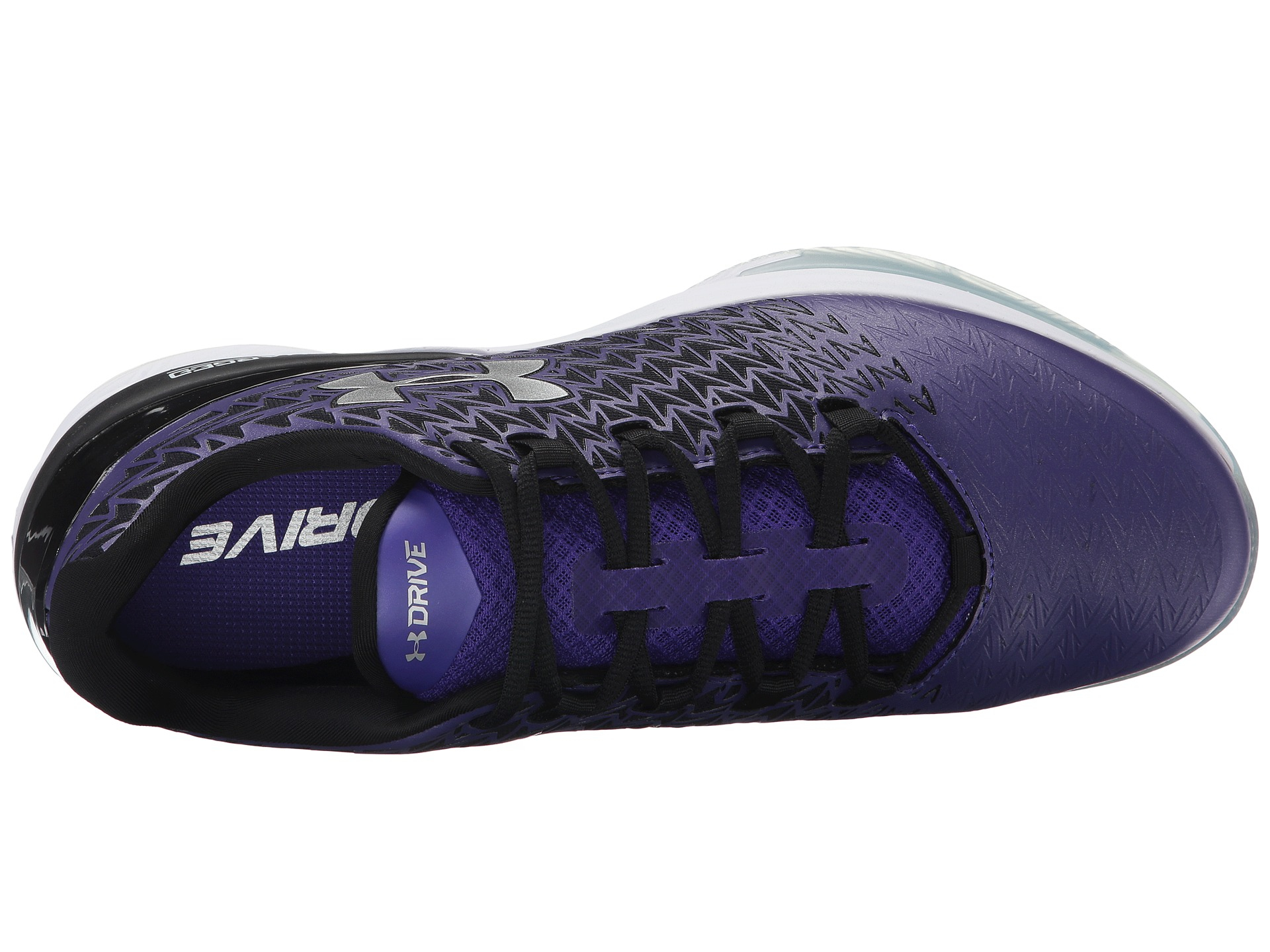 e61623e5fb ... order lyst under armour ua clutchfit drive 3 low in purple for men  c53ee fbed8