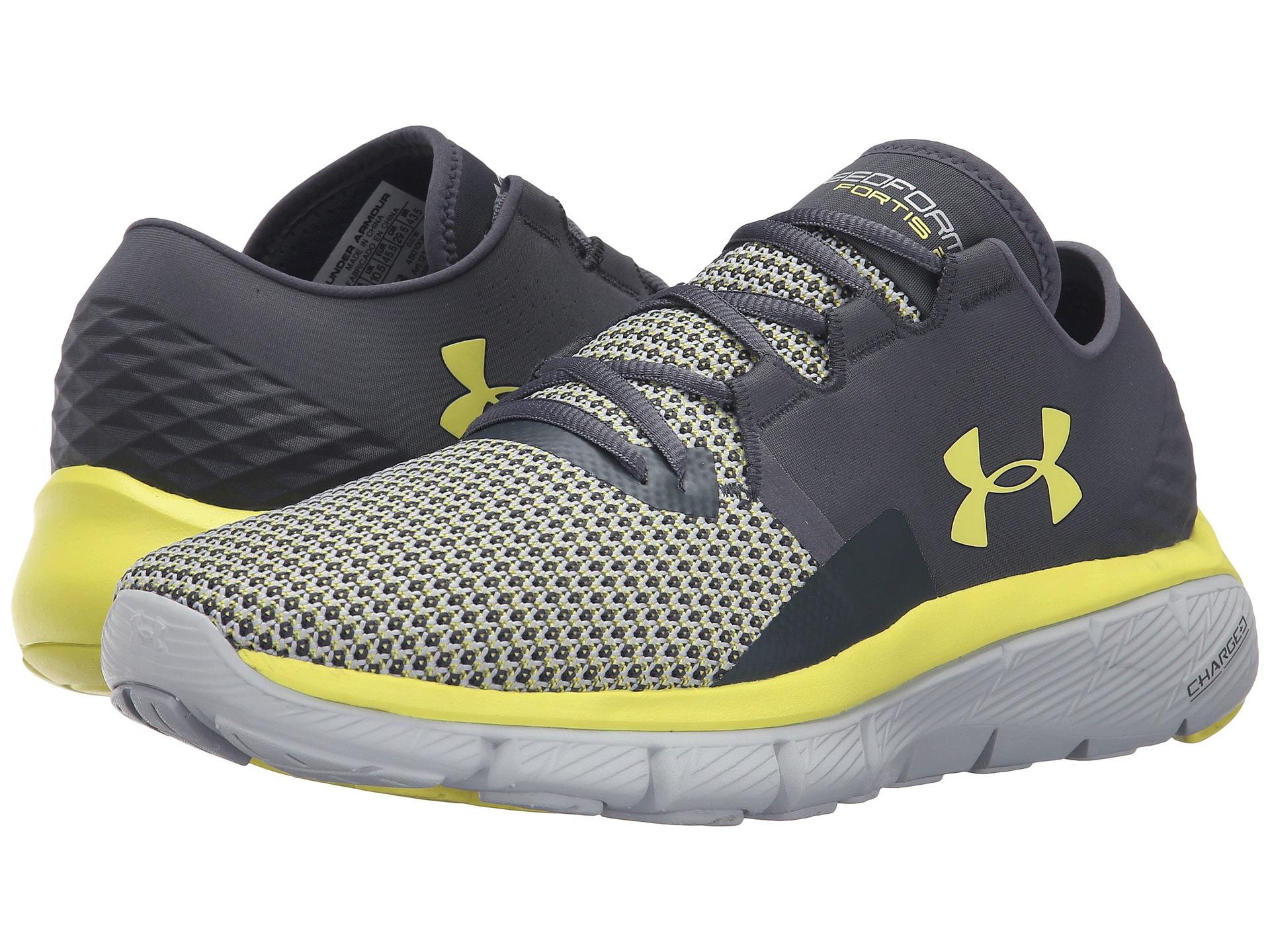 Under Armour Men S Speedform Fortis  Running Shoes Stealth