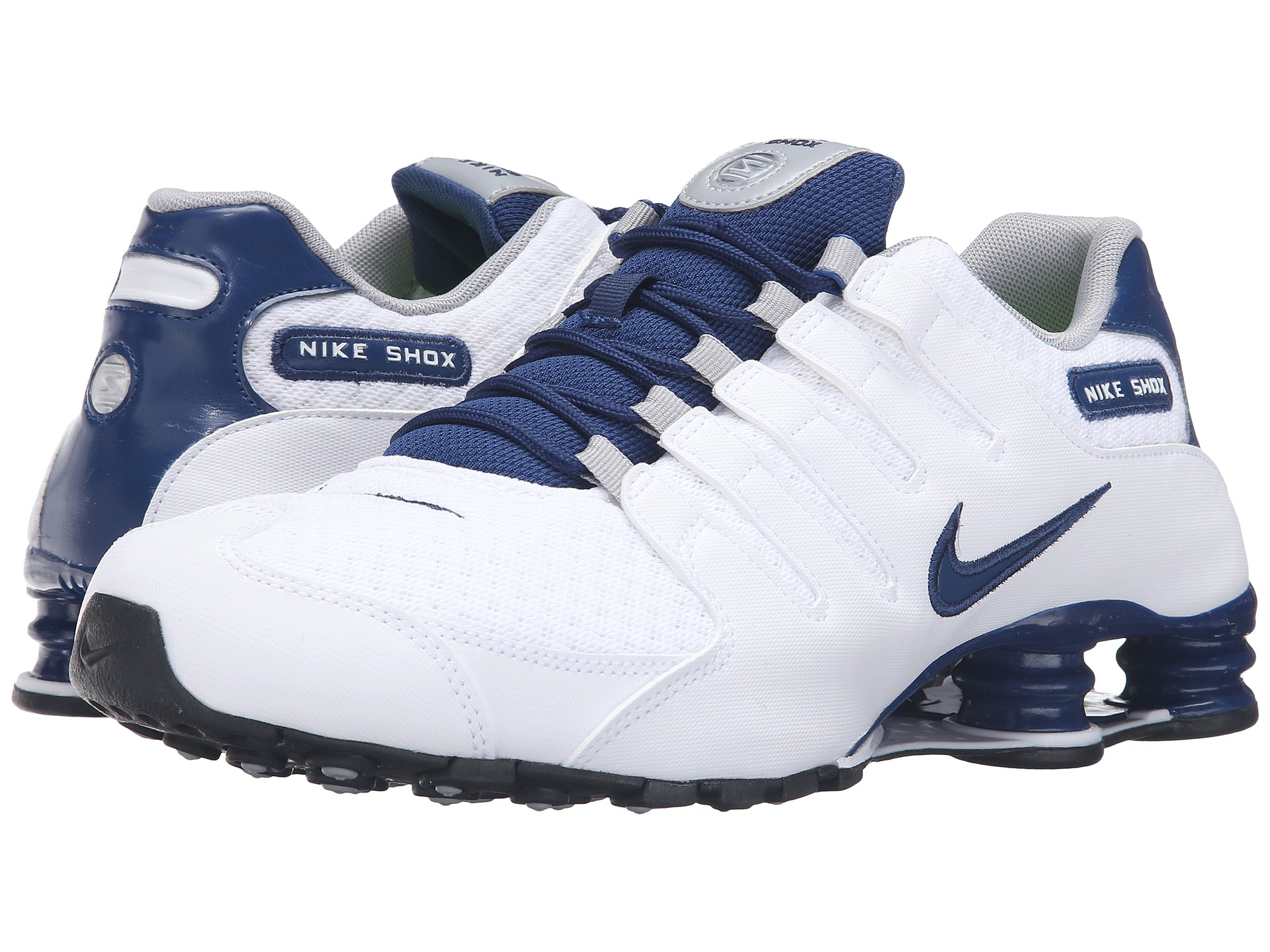 performance sportswear detailing best value Nike Synthetic Shox Nz Se in Blue for Men - Lyst