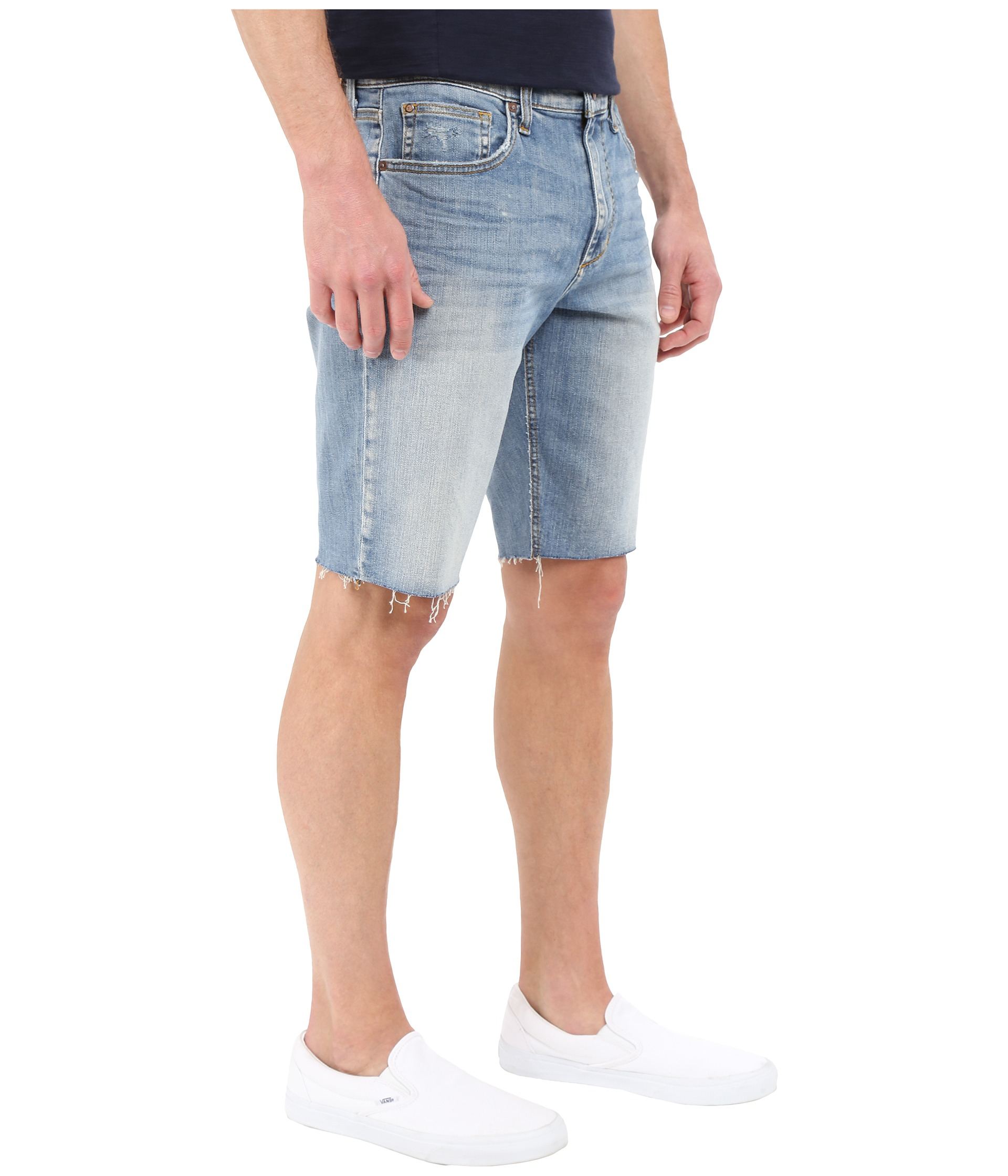 Cut Off Denim Shorts 66