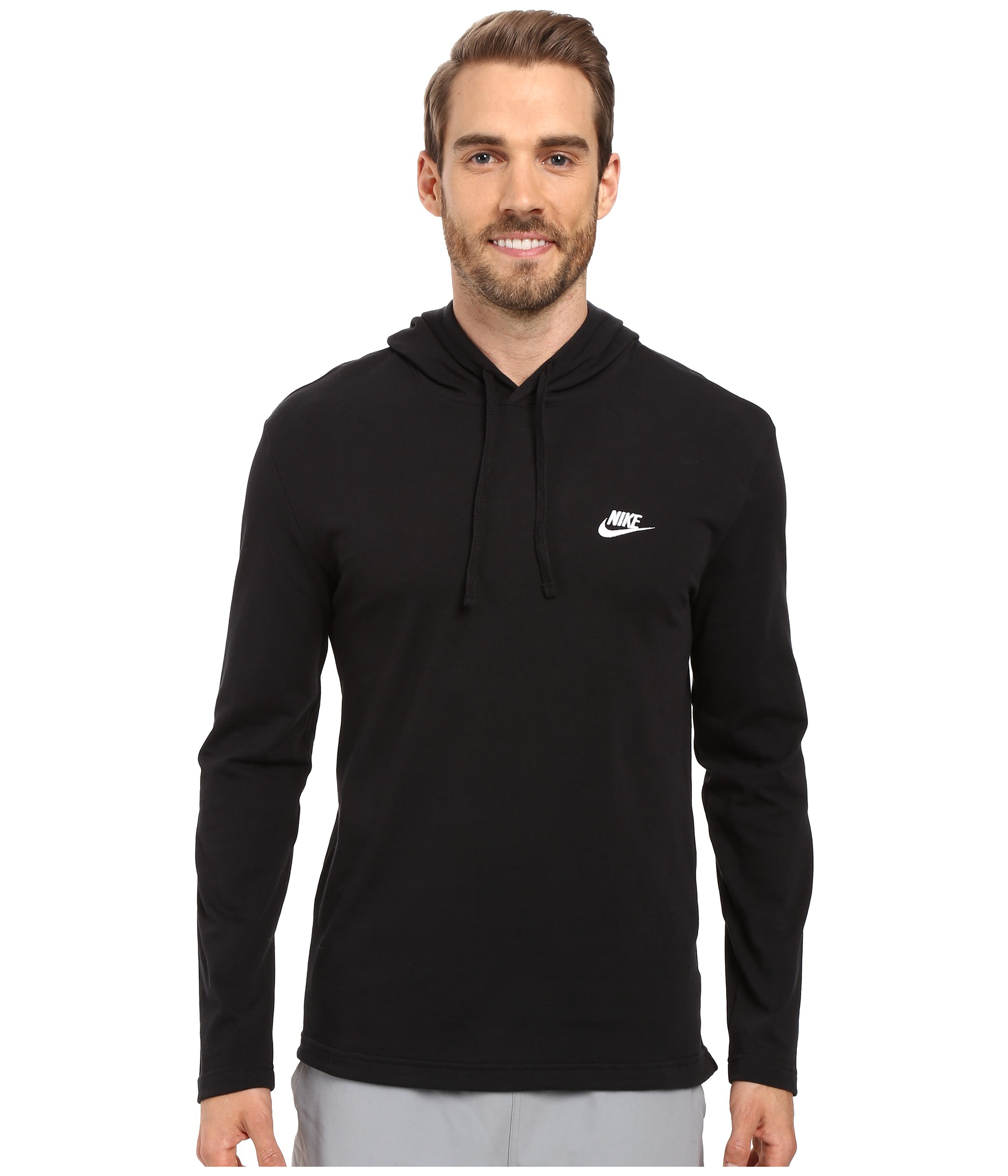 Nike Club Jersey Pullover Hoodie for Men | Lyst