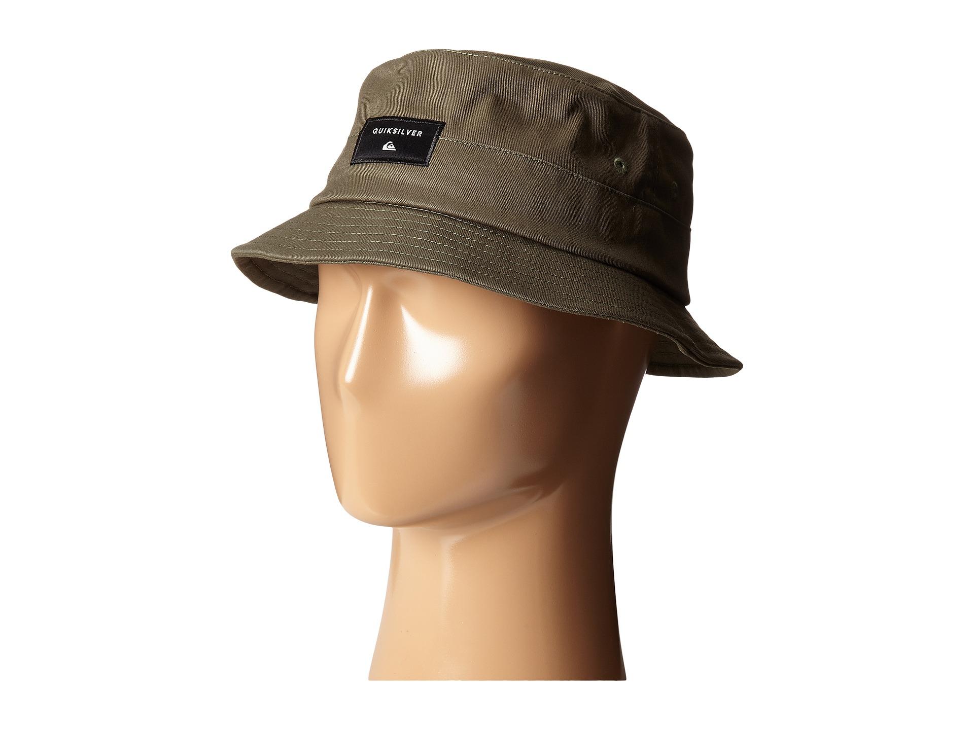 Lyst - Quiksilver Stuckit Bucket Hat for Men a7ac235f548