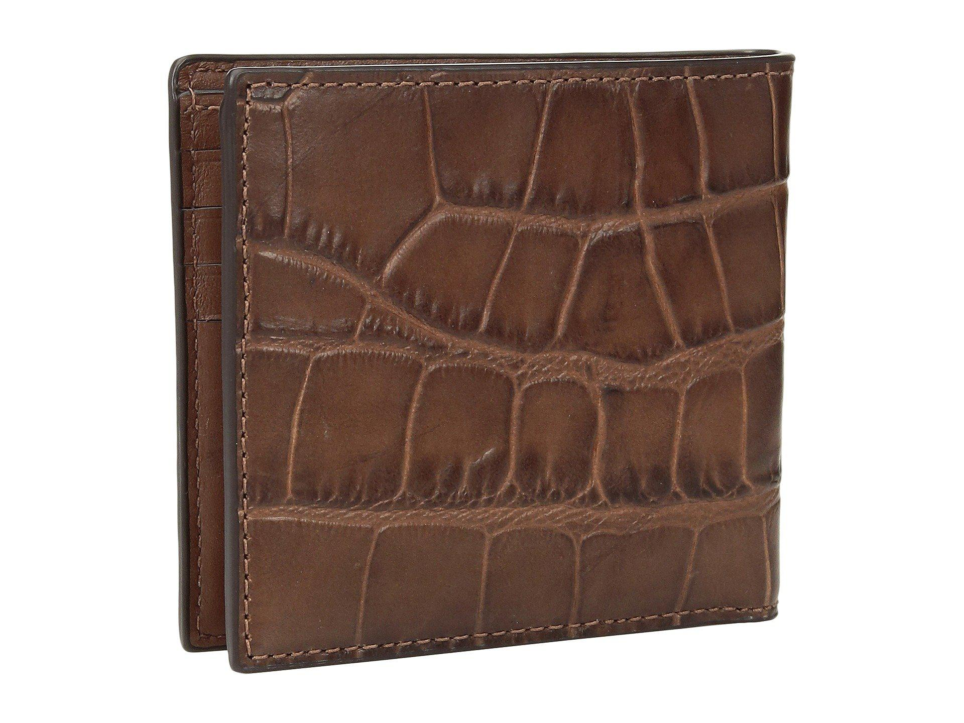 27775d89f649 COACH - Brown Double Billfold Wallet (saddle) Bags for Men - Lyst. View  fullscreen