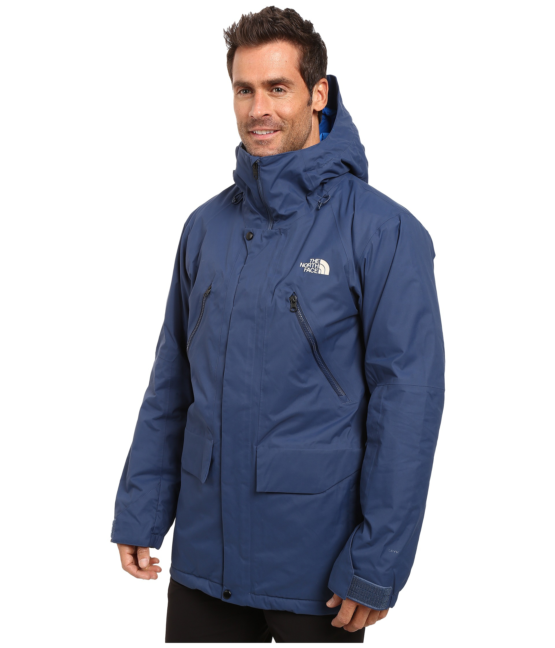 The North Face Synthetic Sherman Insulated Jacket In Blue