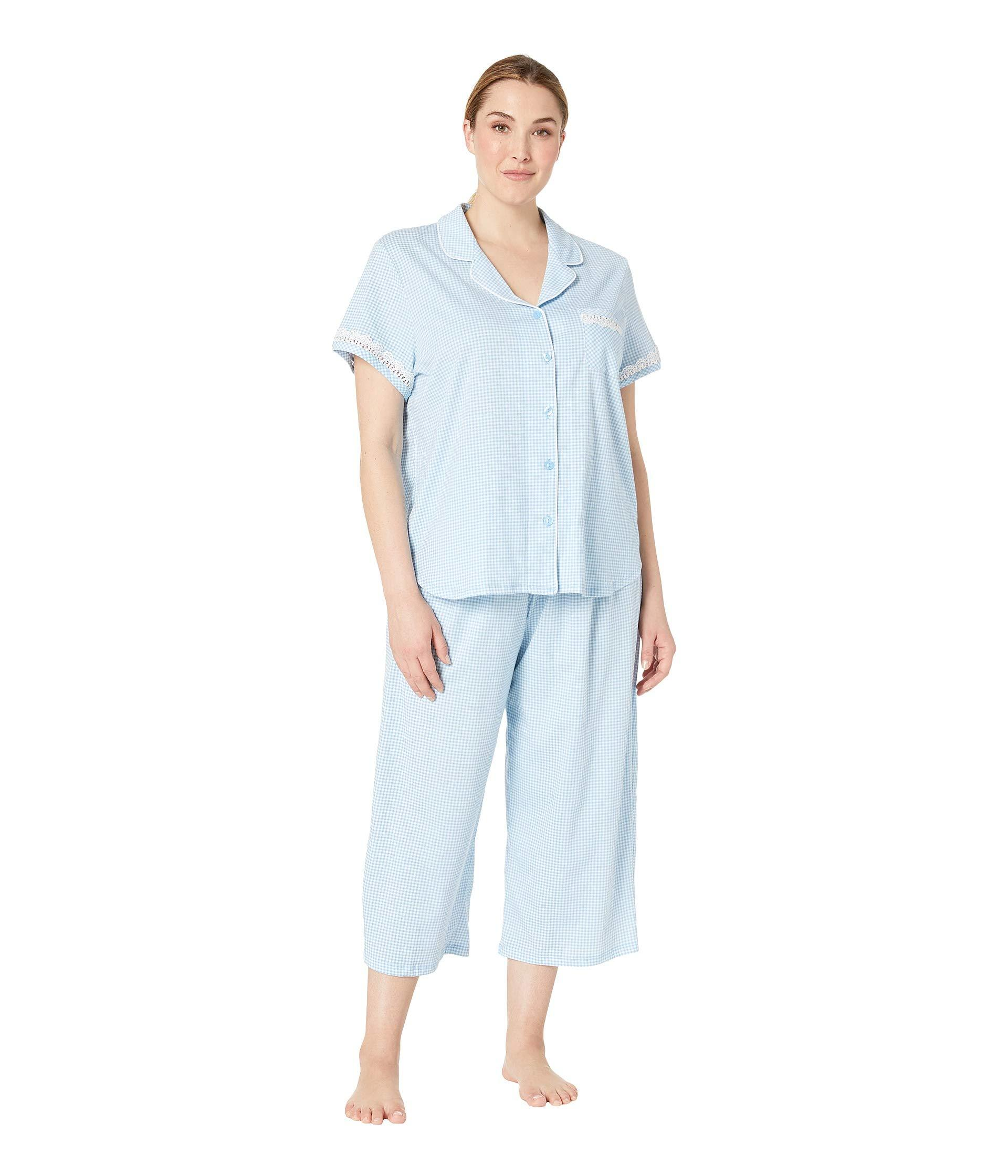 Lyst - Karen Neuburger Plus Size Dreamer Short Sleeve Girlfriend ... a1e2d4ec5
