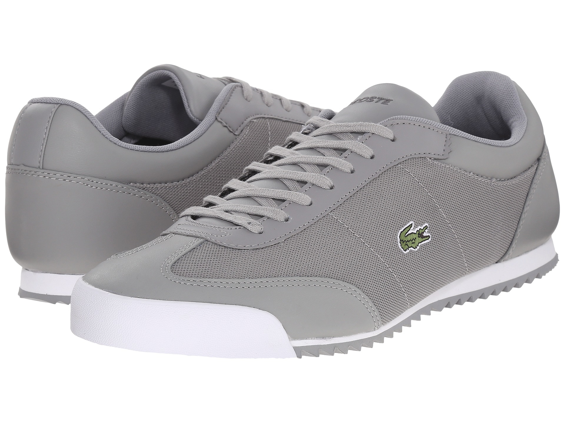 Lacoste Shoes Men S Romeau Leather And Mesh Sneakers