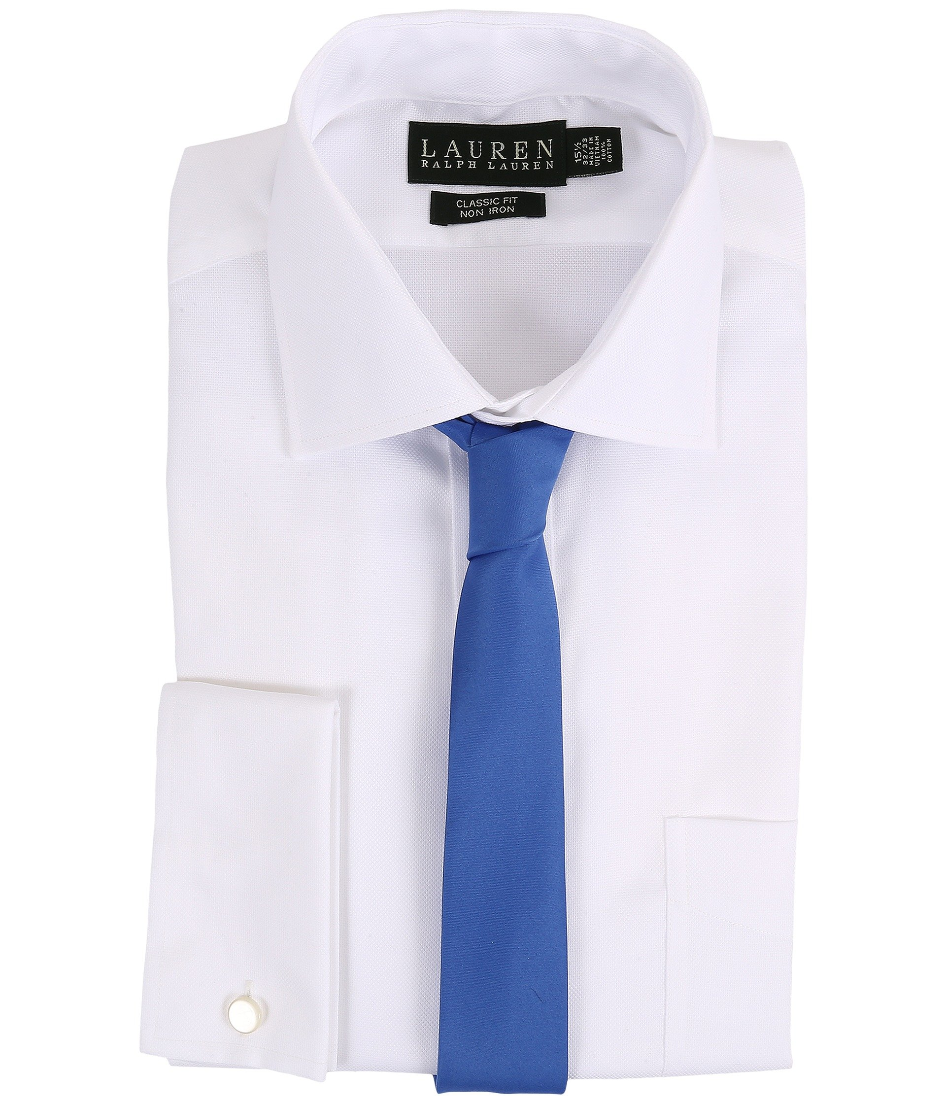Lauren by ralph lauren oxford spread collar classic button for Men s spread collar shirts