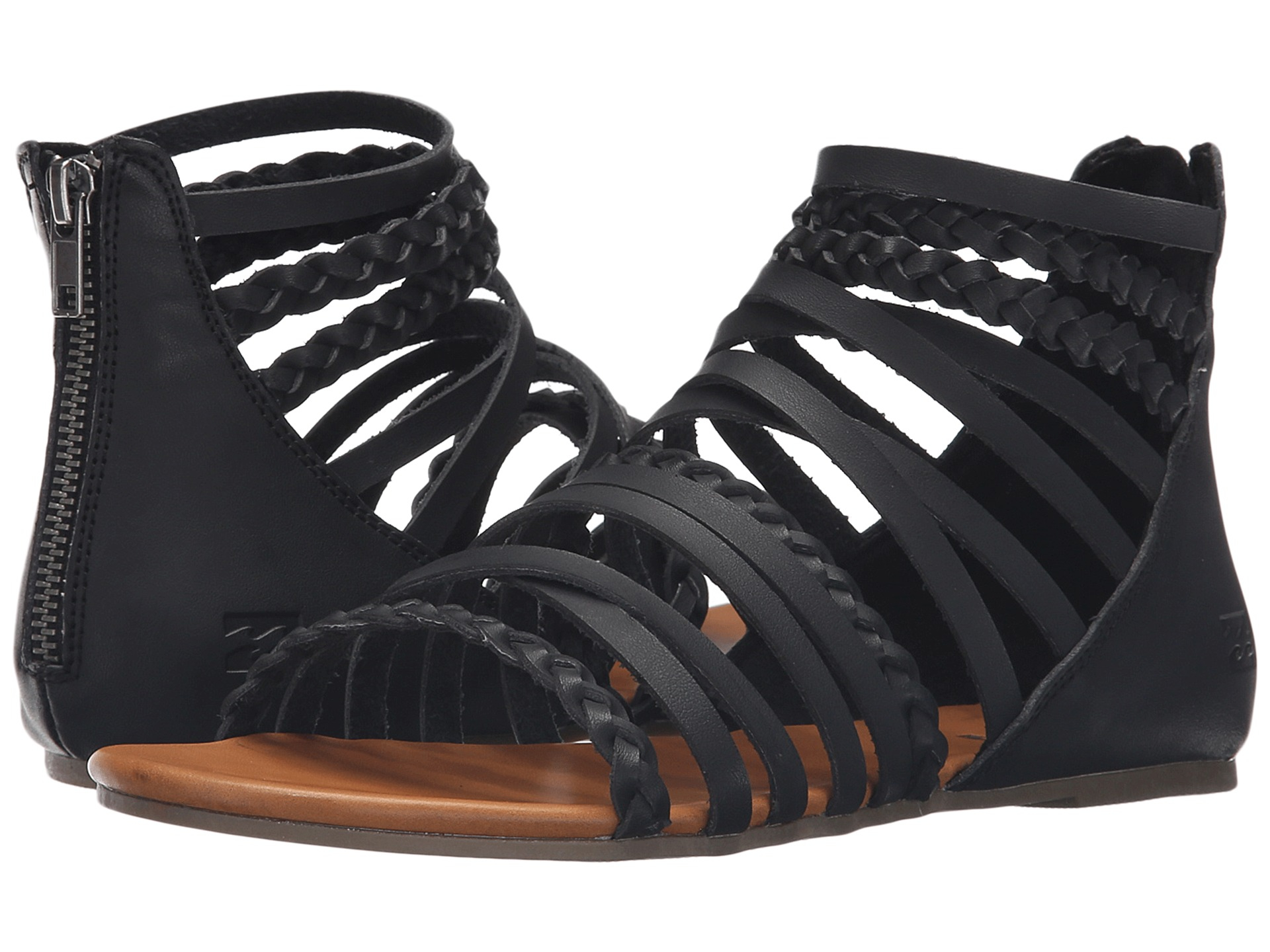 257b1f39164 Lyst - Billabong Sunset Lover Sandal in Black