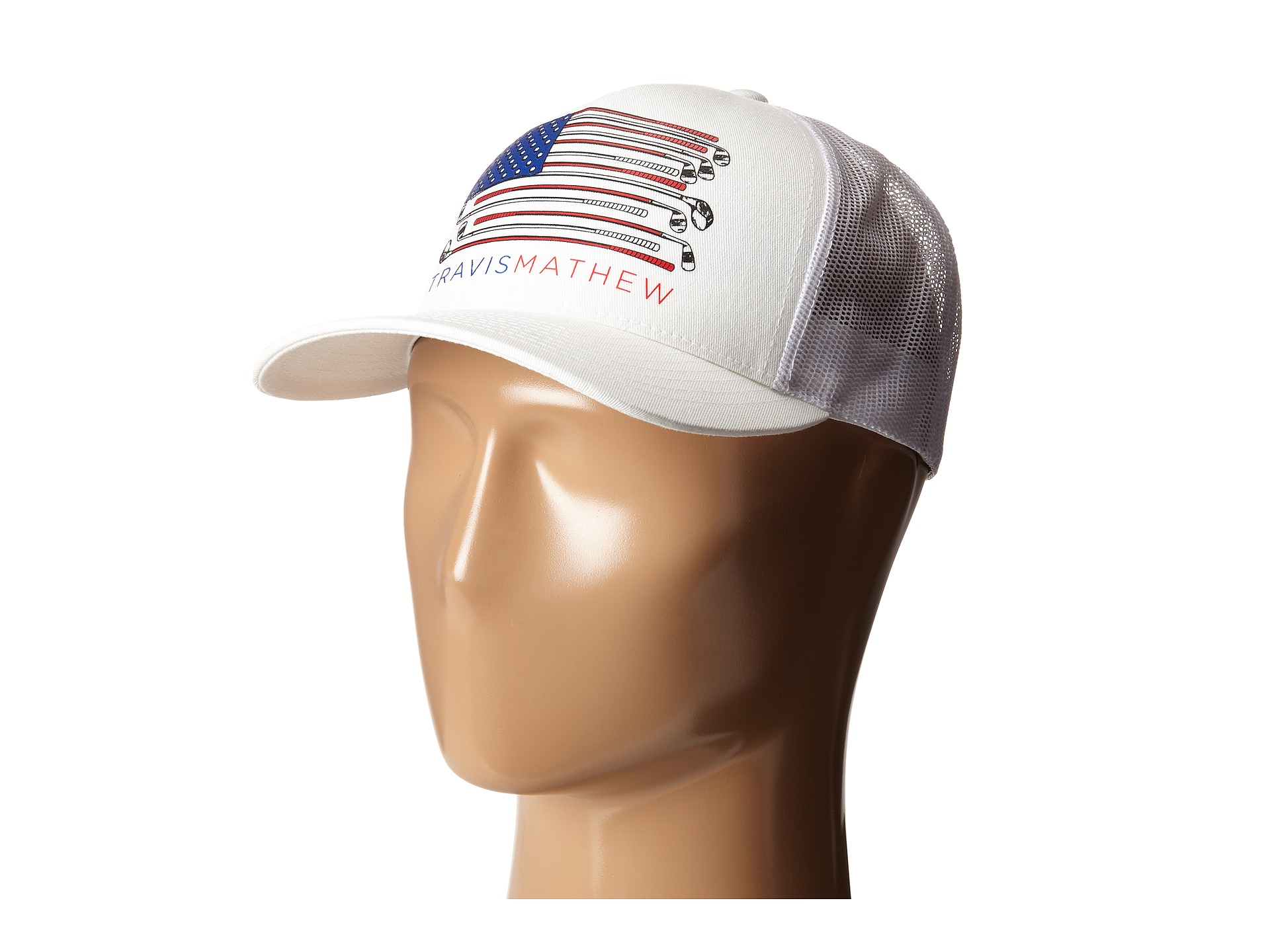 ... new zealand lyst travis mathew old glory hat in white for men 528d3  ad299 f284a7aa3213