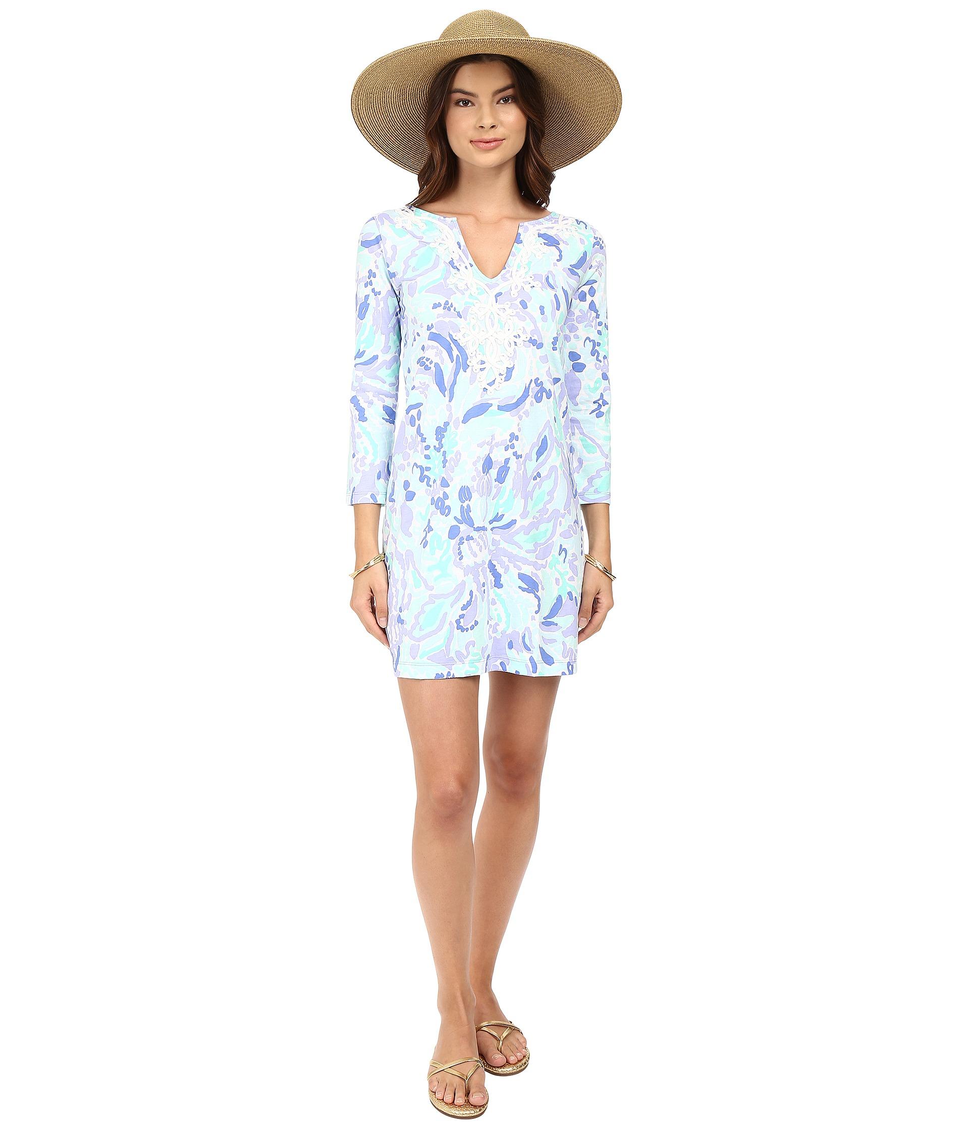 adb814fd393ba2 Lilly Pulitzer Marina Dress in Blue - Lyst