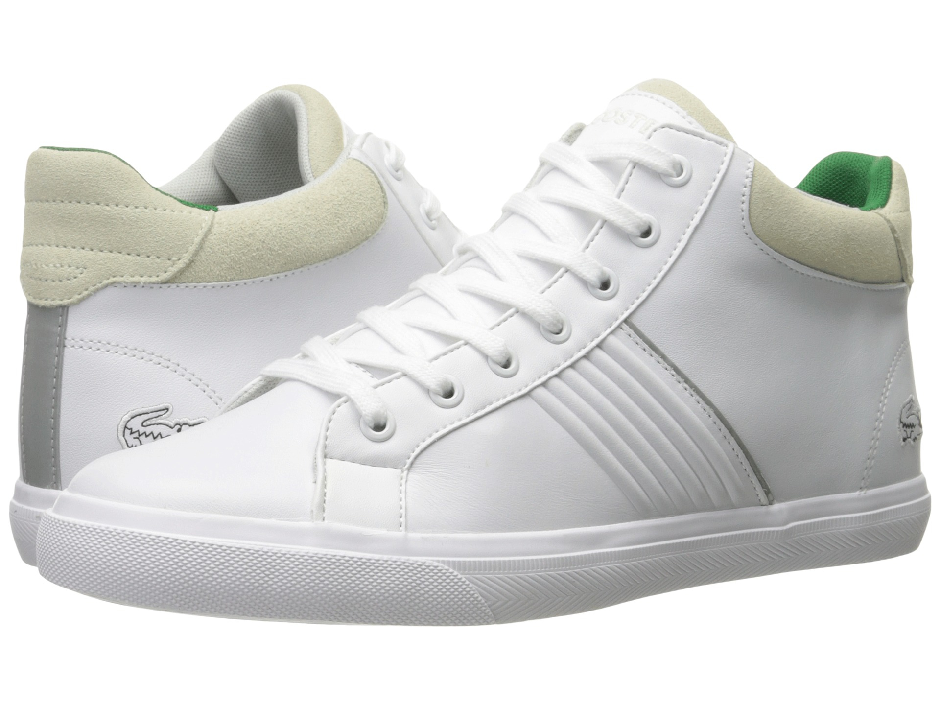 66d5c75eb Lyst - Lacoste Fairlead Mid 316 1 in White for Men