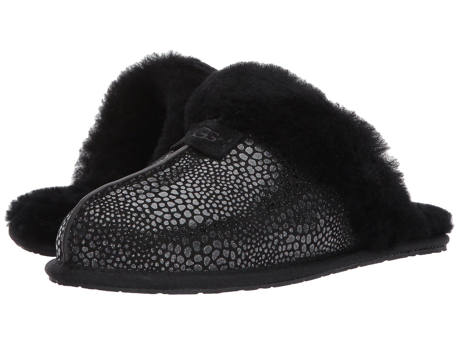 35e2517d507 Black Scuffette Ii Glitzy (grey Violet) Women's Sandals