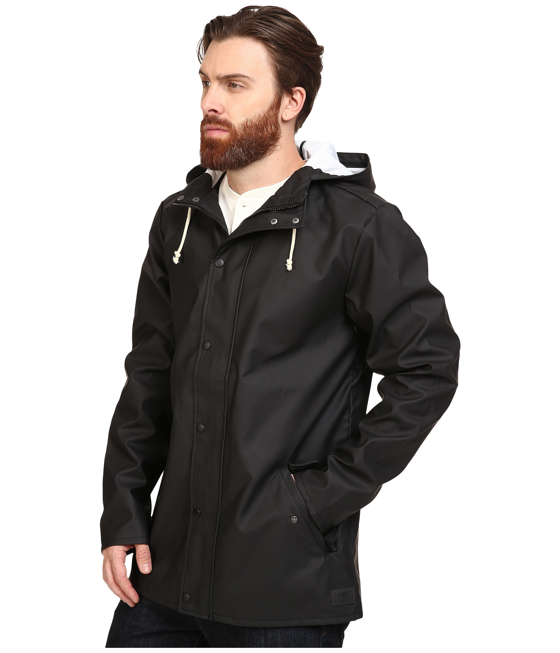 3592647dbe Lyst - Vans Junipero Moutain Edition Jacket in Black for Men