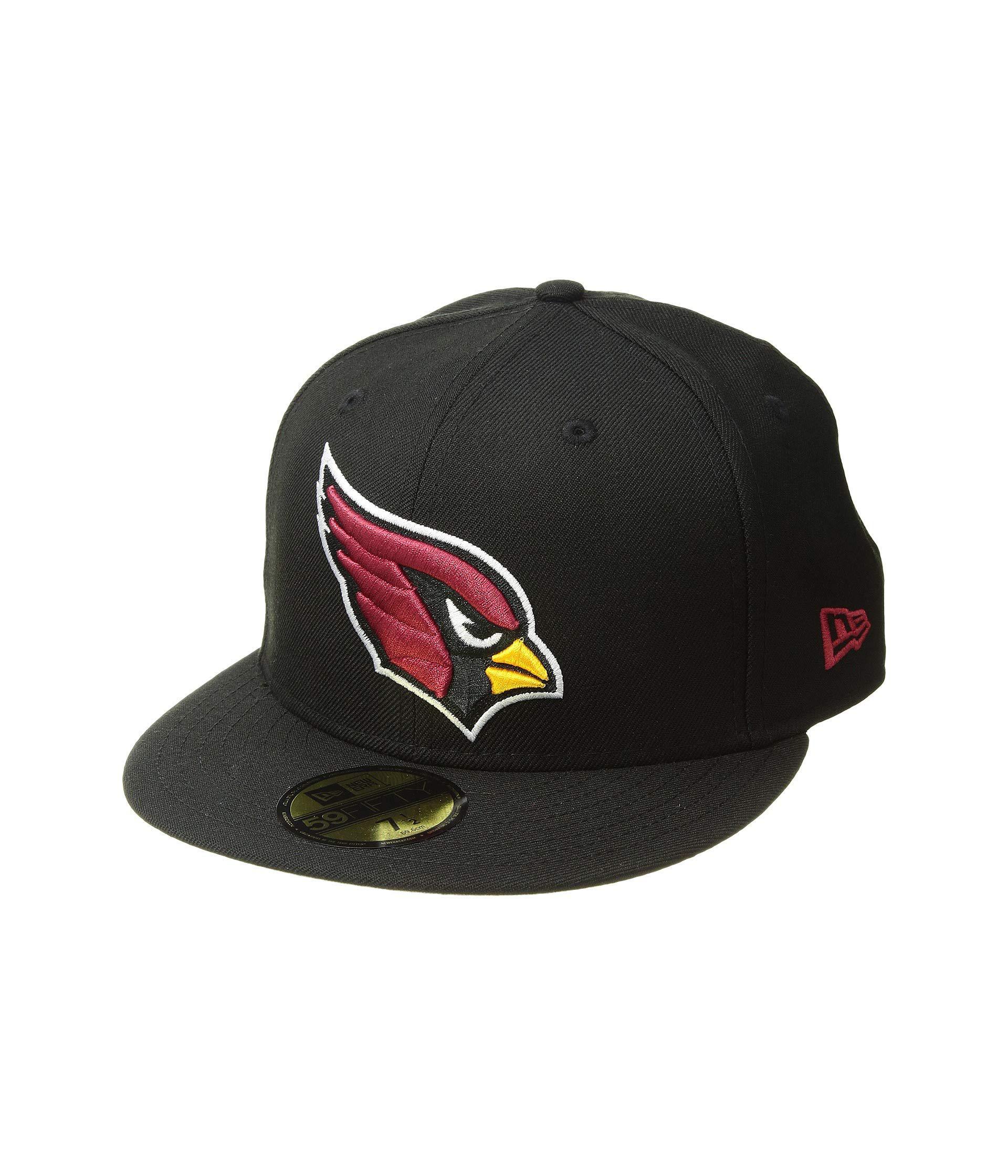 newest 925dd d6e5d KTZ - 59fifty Arizona Cardinals (black) Baseball Caps for Men - Lyst. View  fullscreen