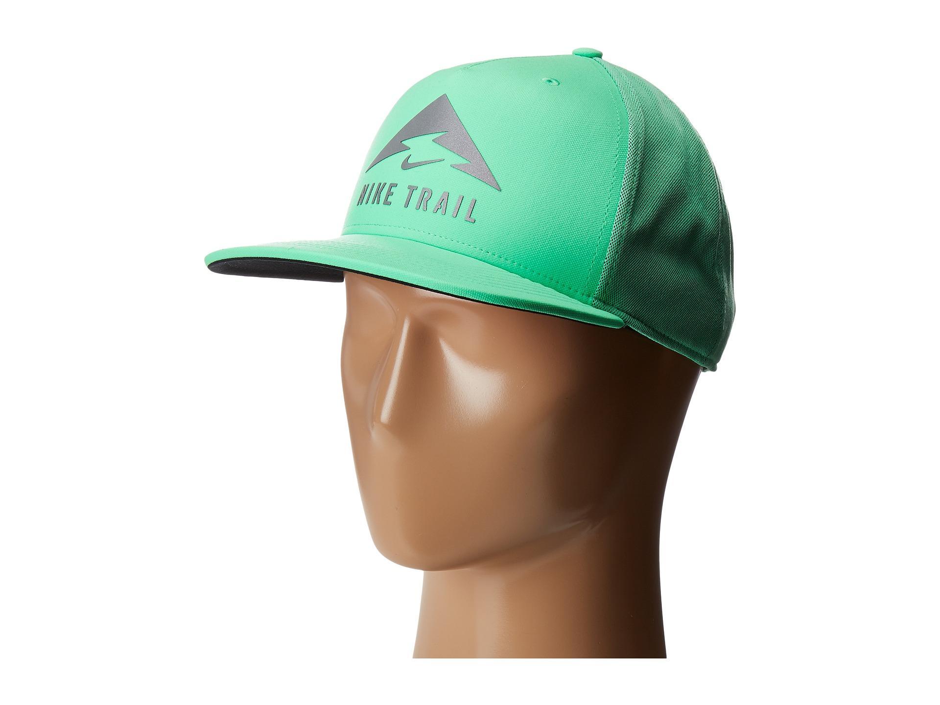 b384aab547807 Nike Aerobill Trail Cap in Green - Lyst