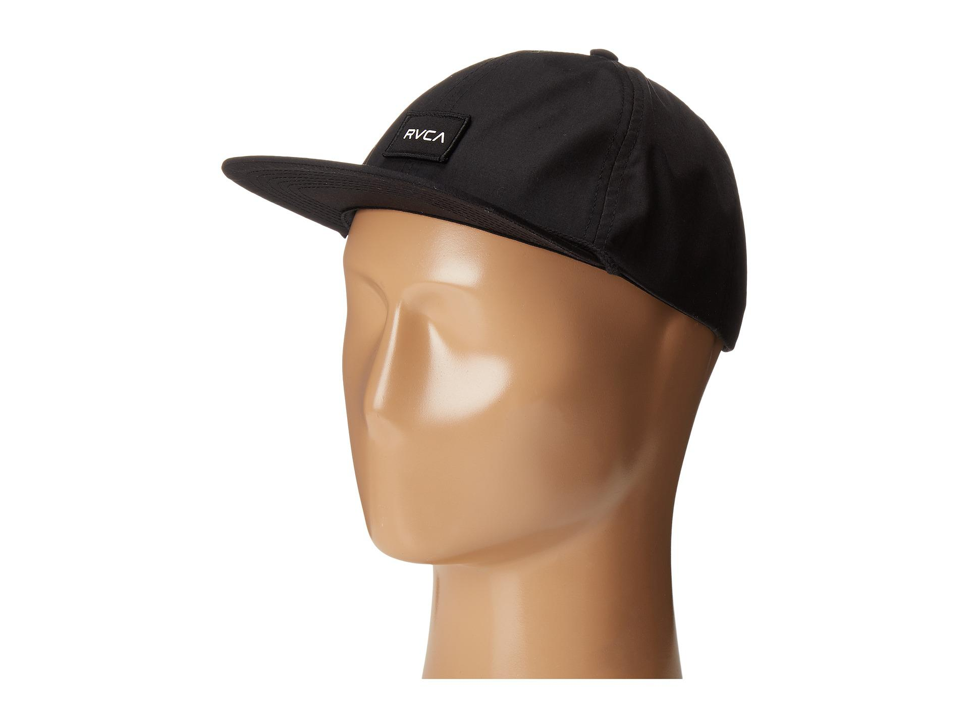 official photos 8b7a2 318ab netherlands rvca commonwealth snapback baseball cap c9ad6 e025d  discount  code for lyst rvca curren caples cap in black for men 1c9d4 80be4
