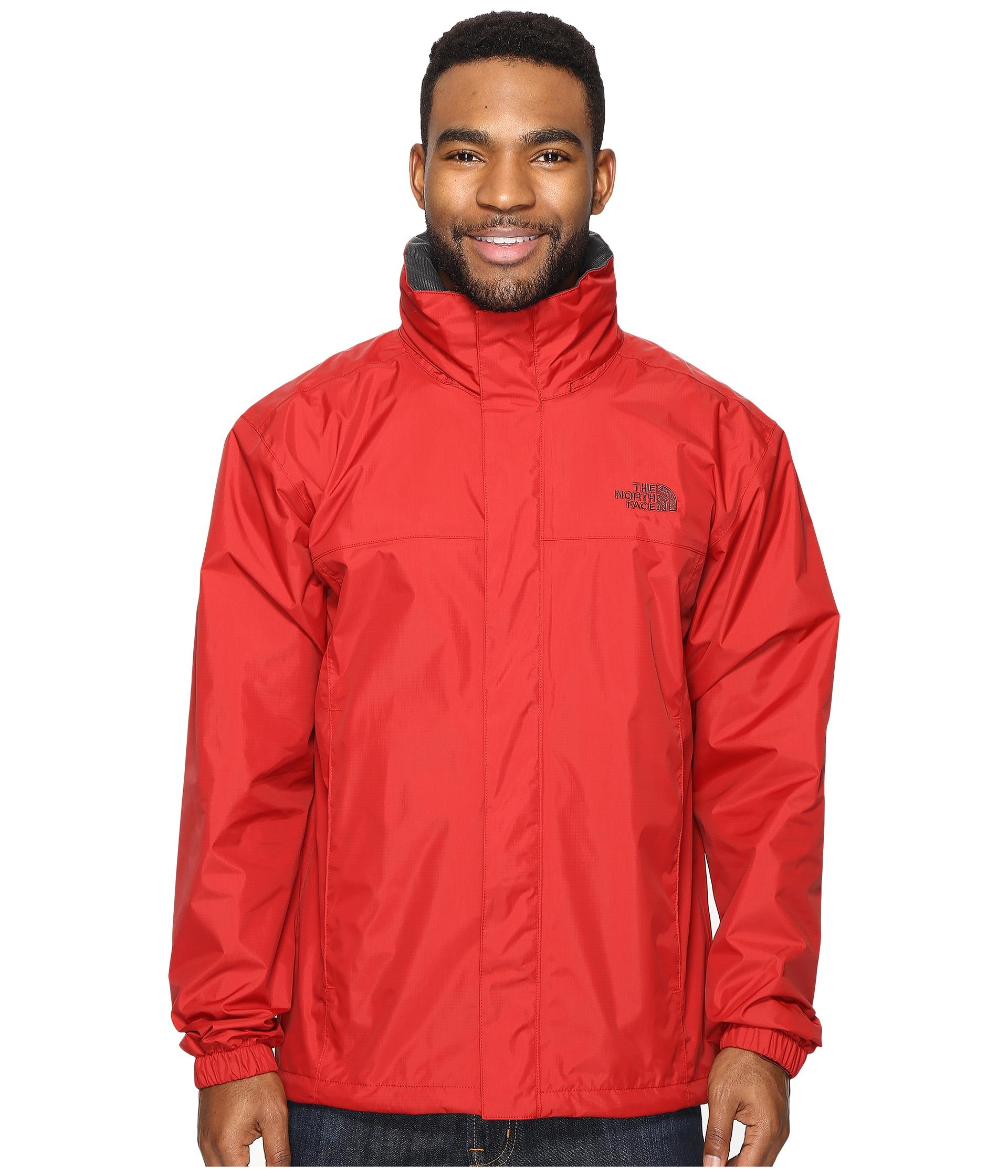 b29a7f44c The North Face Red Resolve 2 Jacket for men