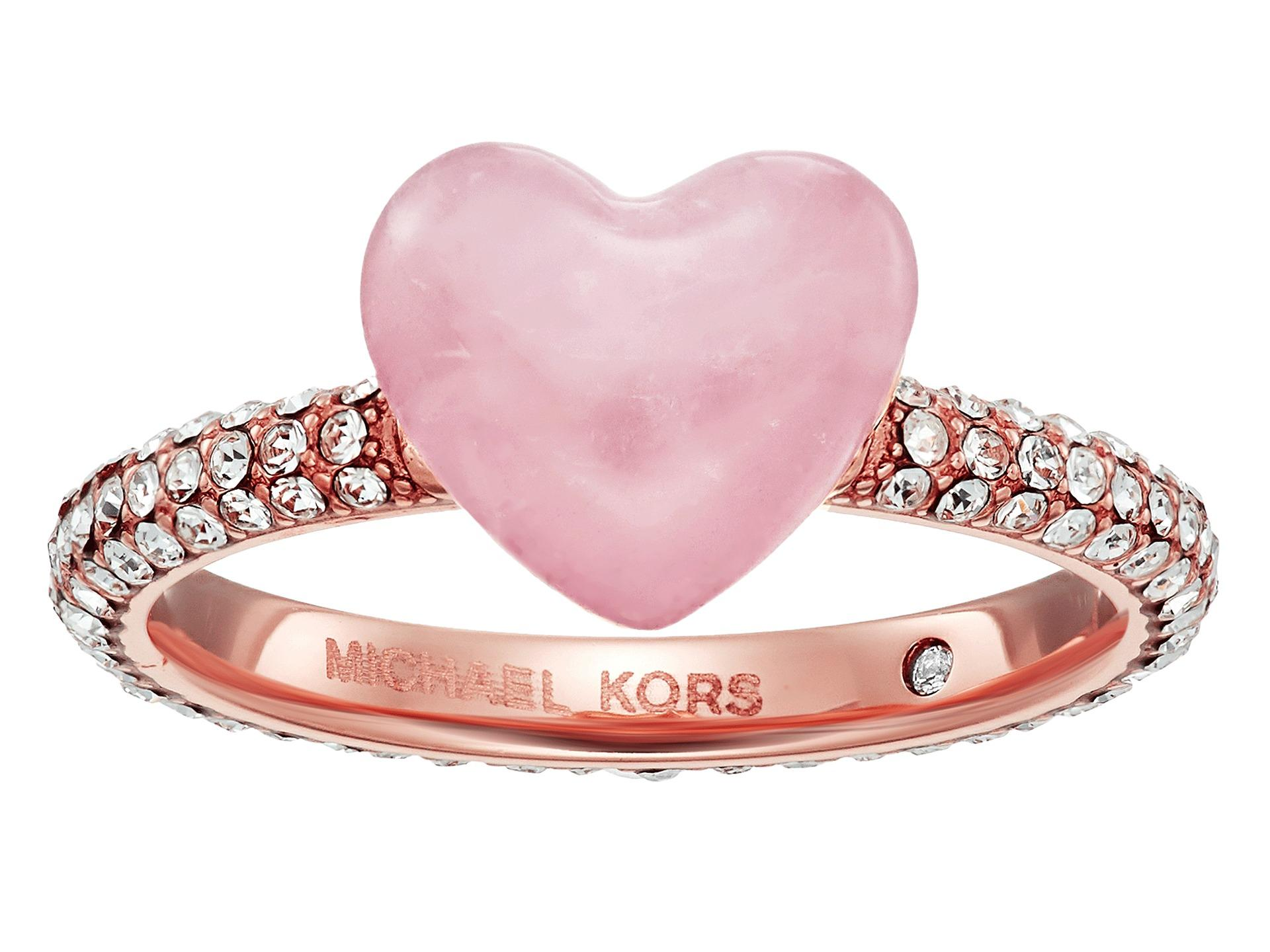 Amazing Rose Gold Heart Wedding Rings – Wedding