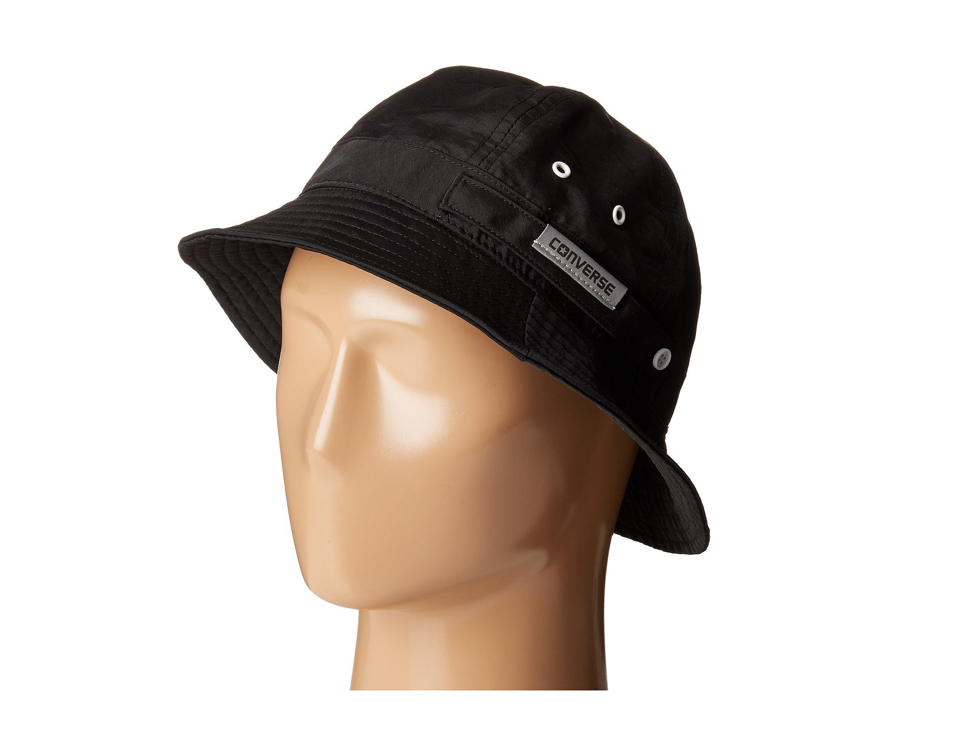 Lyst - Converse Crushable Bucket Hat in Black for Men e69028042f6