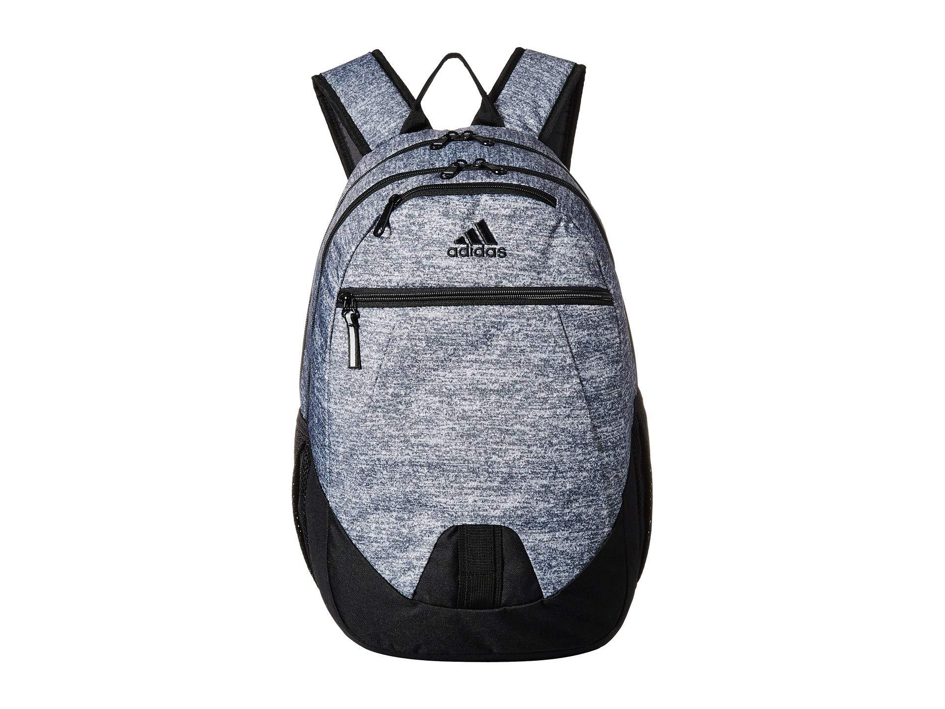 adidas Foundation V Backpack (onix Jersey/black) Backpack Bags for ...