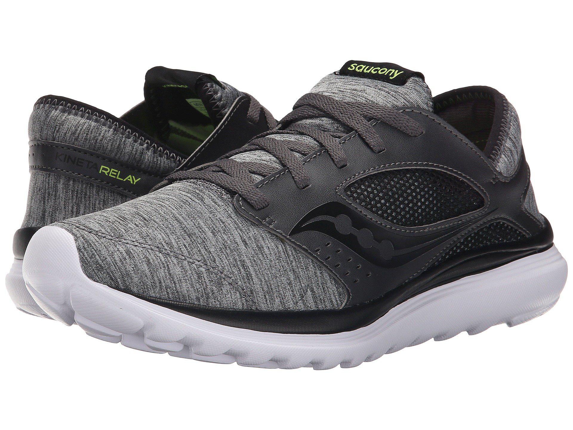 Saucony / Kineta Relay Shoes / HEATHER/BLACK