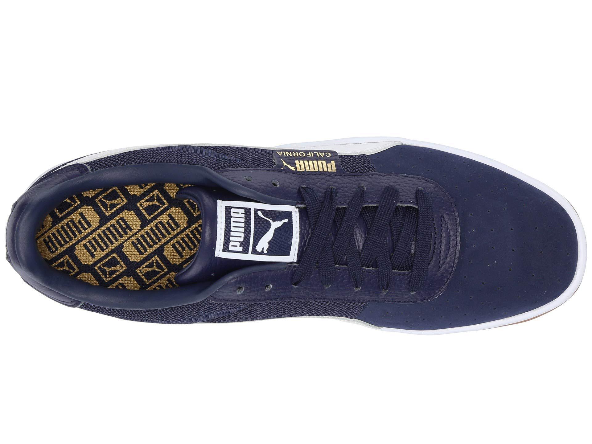 Lyst - PUMA California Casual ( White peacoat  White) Men s Shoes in ... b22339bca