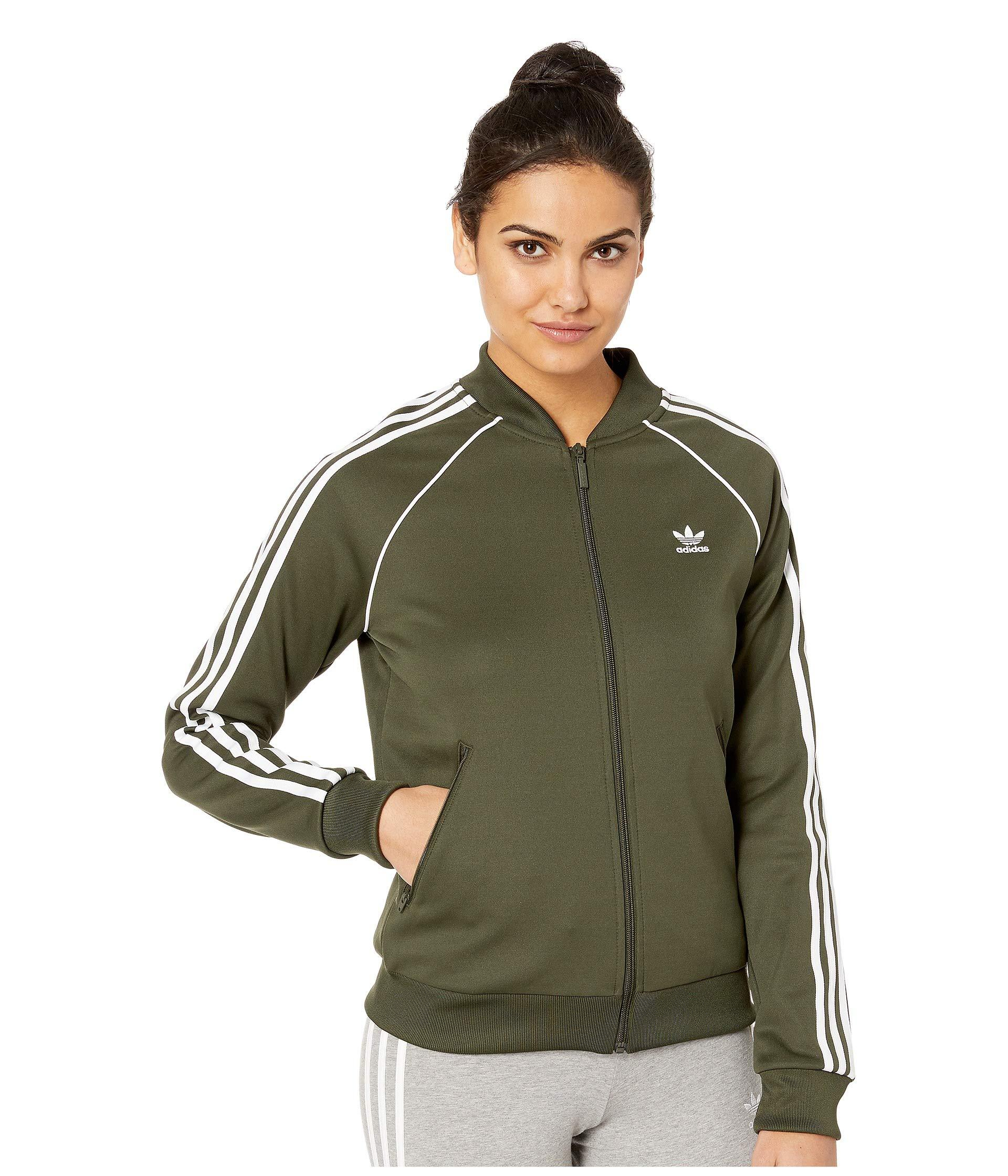 973c01d7f0 Green Sst Track Jacket (multicolor 2) Women's Coat