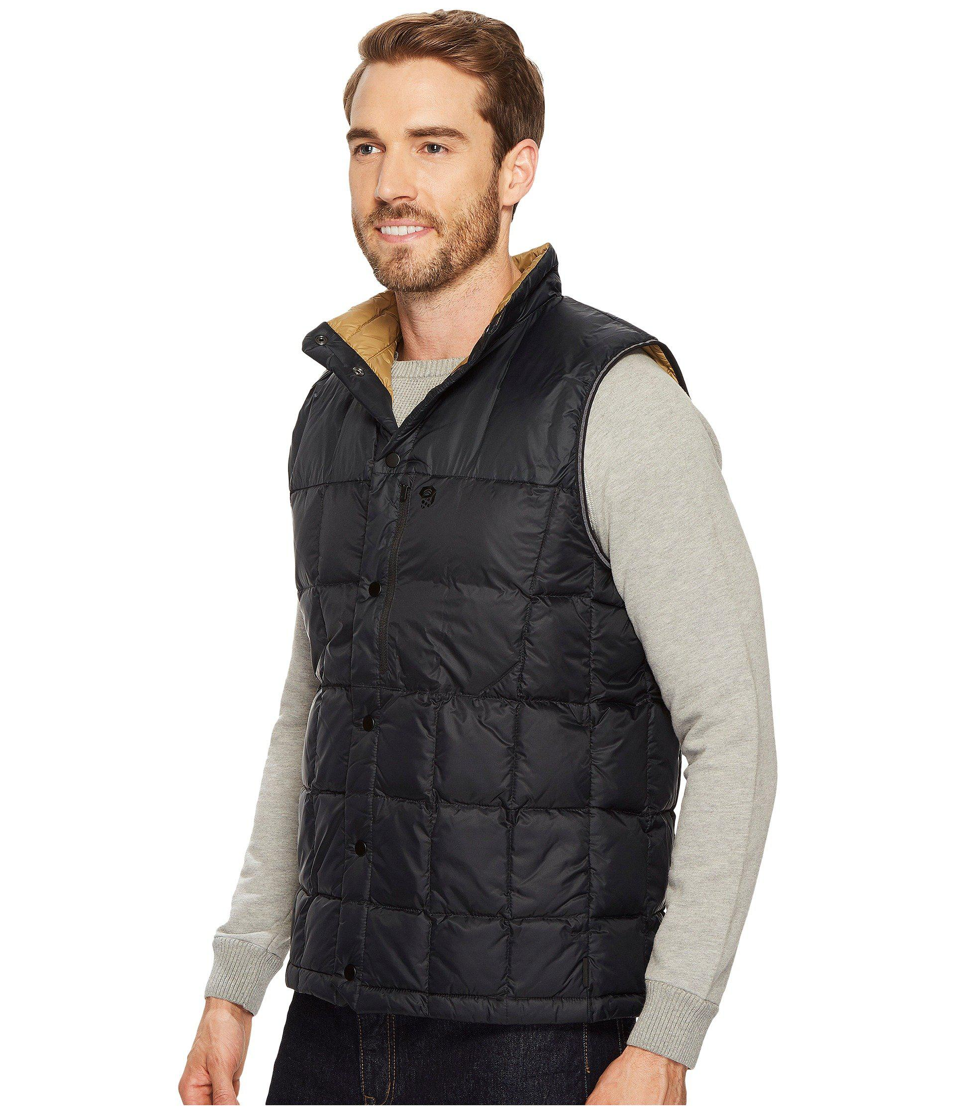 c234495aa Mountain Hardwear Packdown Vest (black) Vest for men