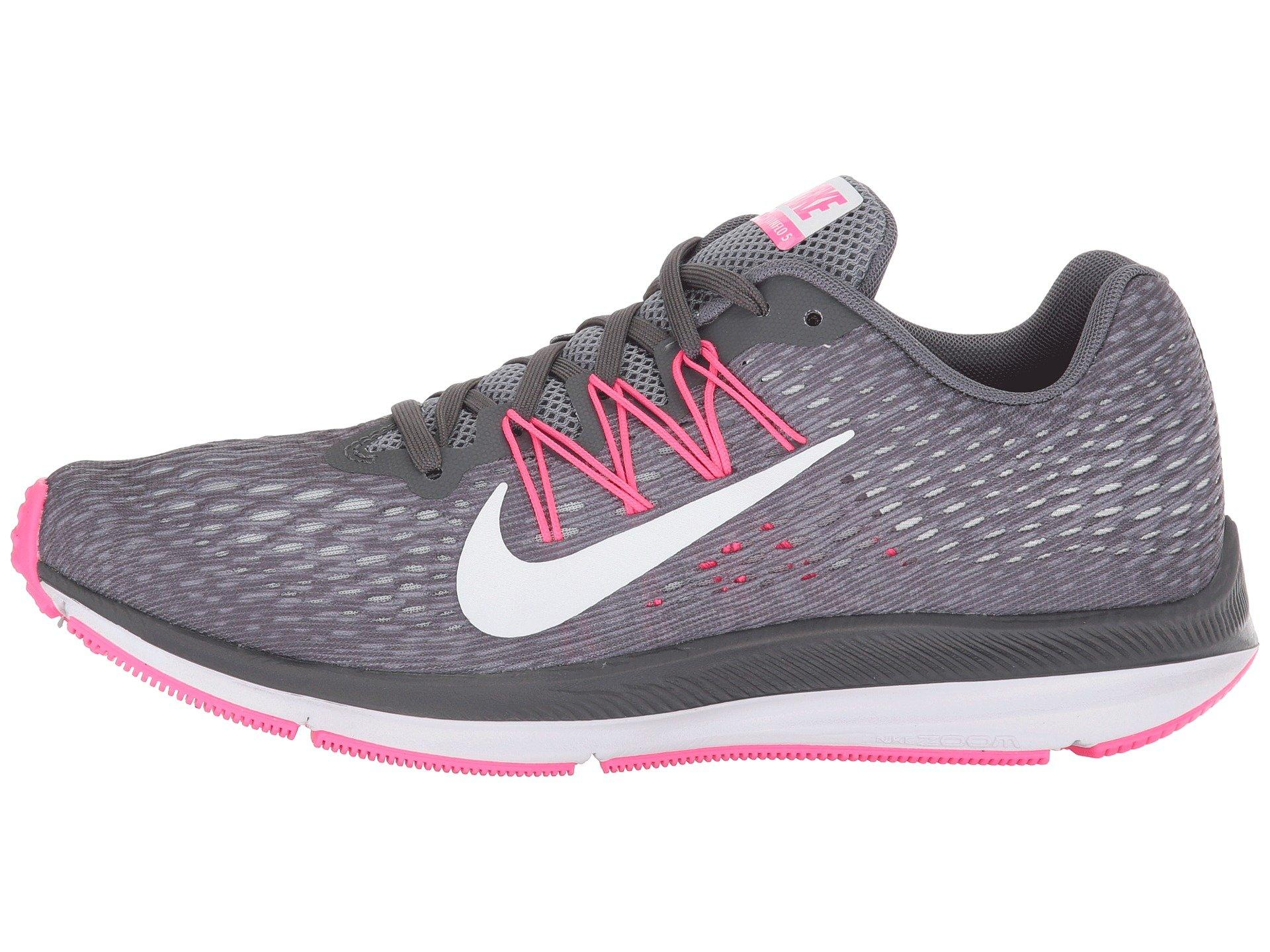 Nike Rubber Air Zoom Winflo 5 (dark Grey/white/cool Grey ...