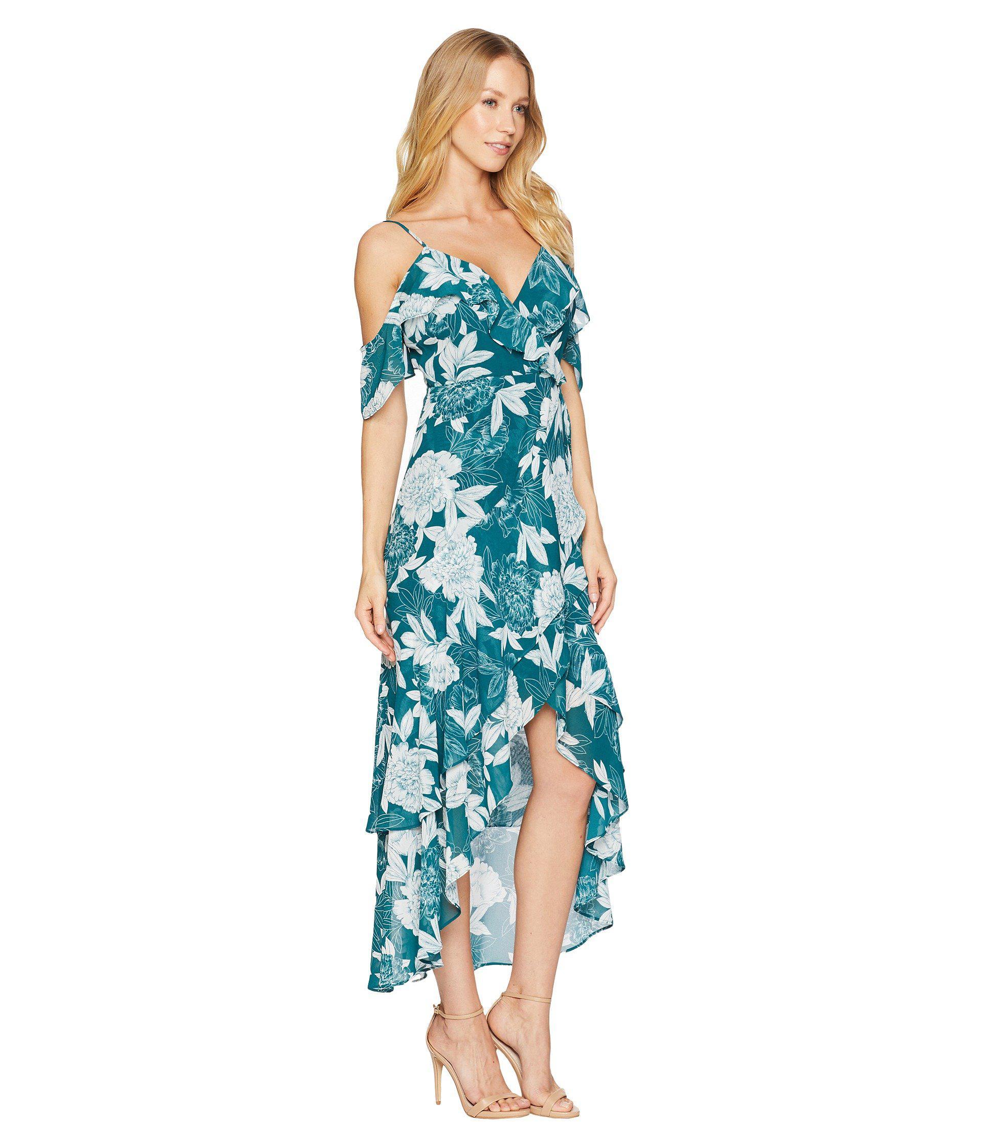 Lyst - Bardot Garden Party Dress in Blue