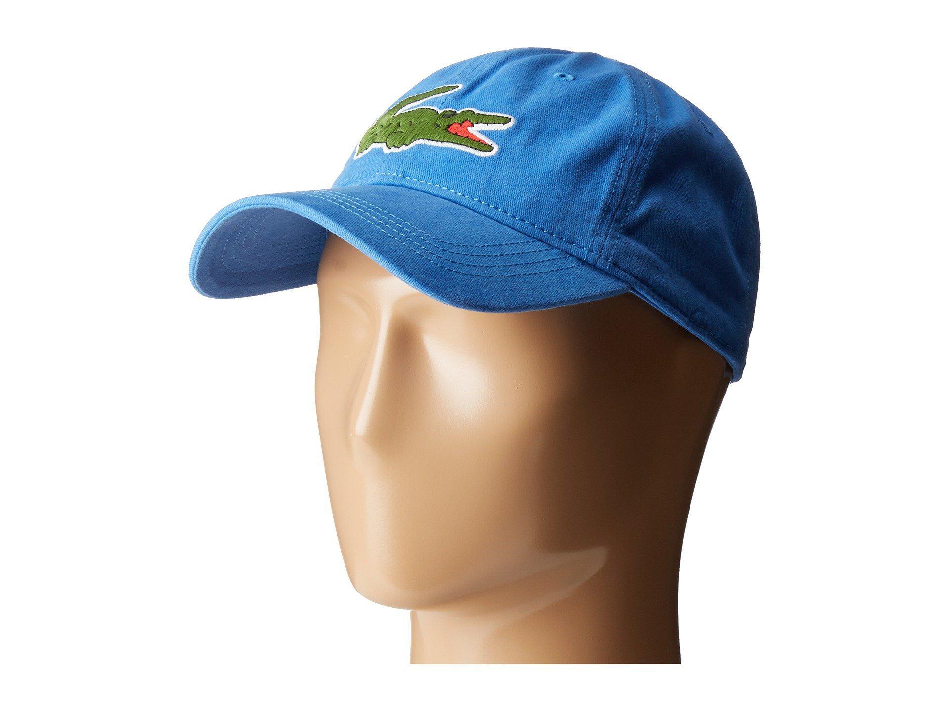 e14c09f703 Men's Blue Big Croc Gabardine Cap