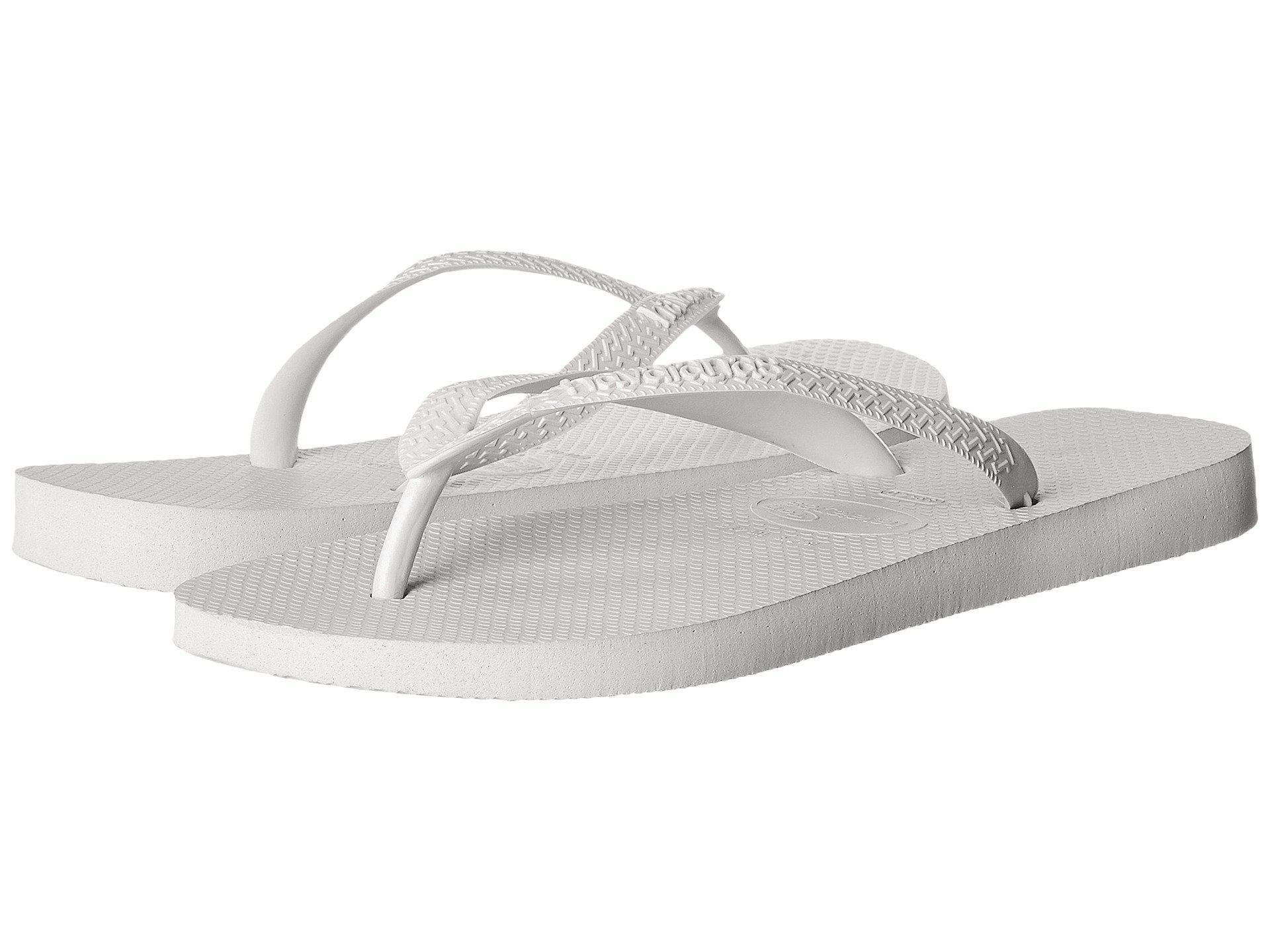 6f839f48f9dc53 Lyst - Havaianas Top Flip Flops (marine Blue) Men s Sandals in White ...