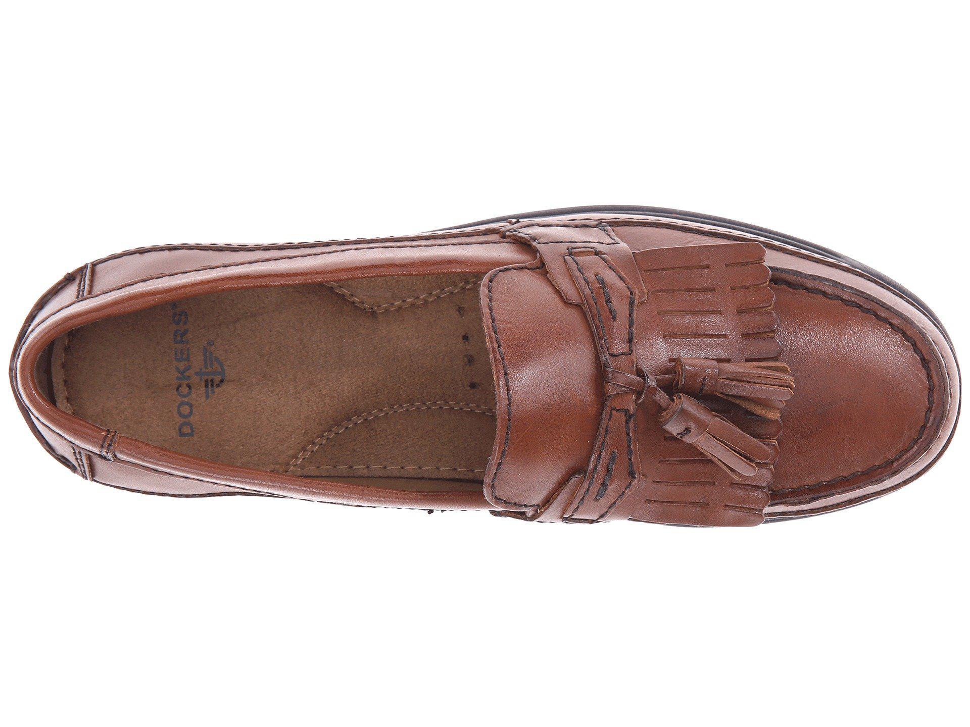fbc6f773c69 Dockers - Sinclair Kiltey Tassel Loafer (antique Brown) Men s Slip-on Dress  Shoes. View fullscreen