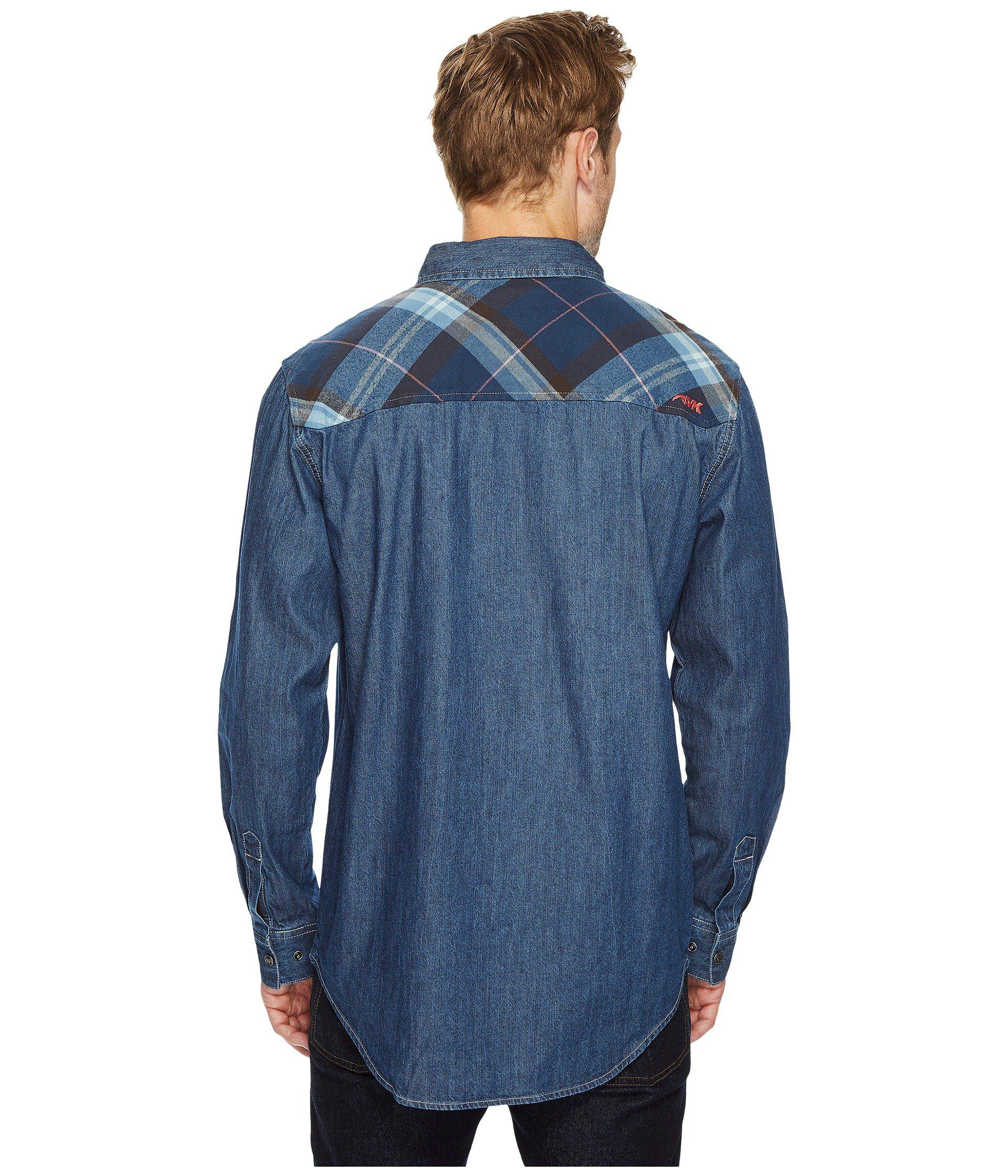 2133c10f132 Lyst - Mountain Khakis Original Mountain Denim Shirt in Blue for Men