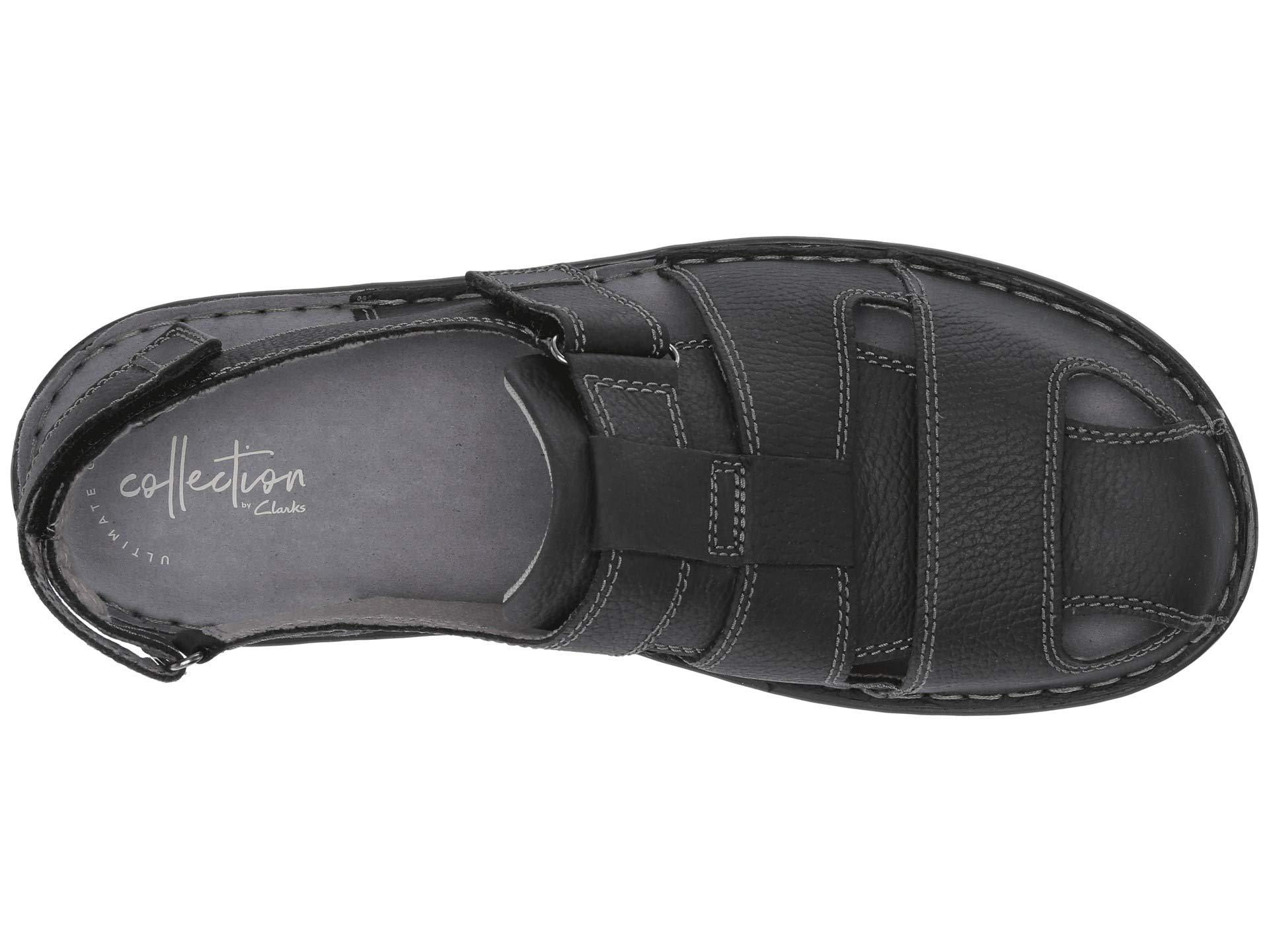 22f202906ac Clarks - Malone Cove (black Tumbled Leather) Men s Shoes for Men - Lyst.  View fullscreen