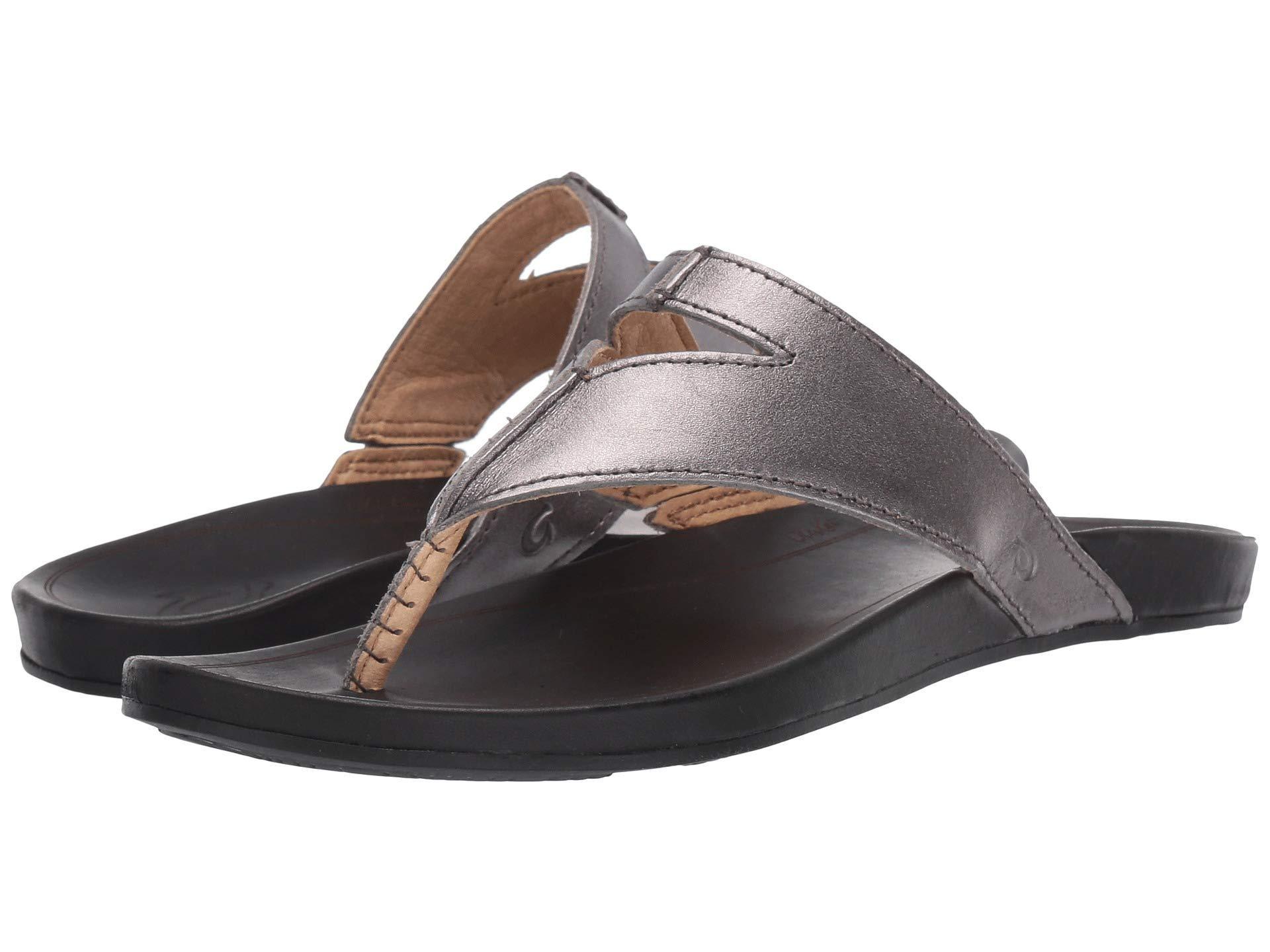 9d2109af5e1d Lyst - Olukai Lala (black tan) Women s Sandals in Black