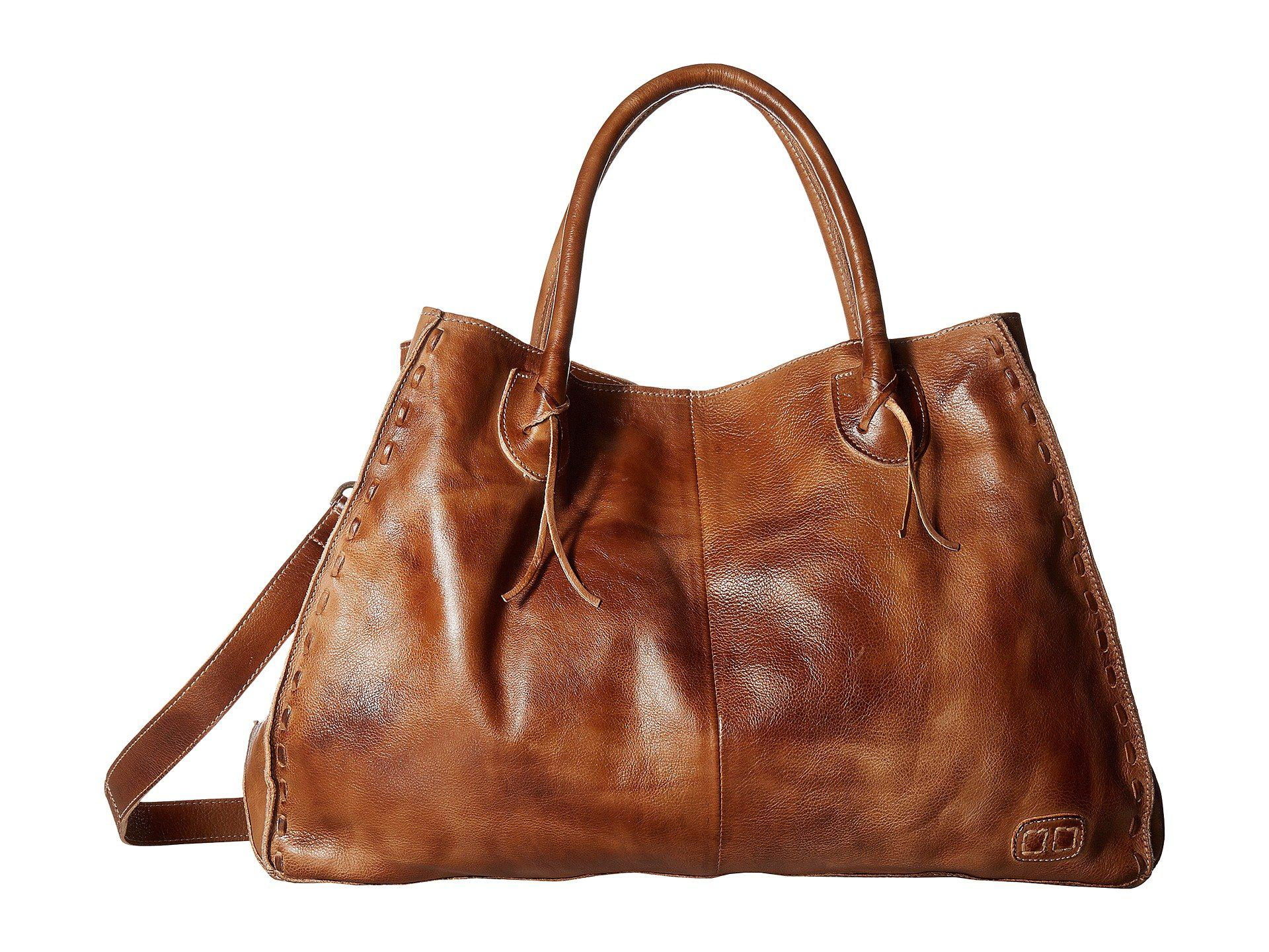 Bed Stu Women S Brown Rockaway Teak Rustic Handbags