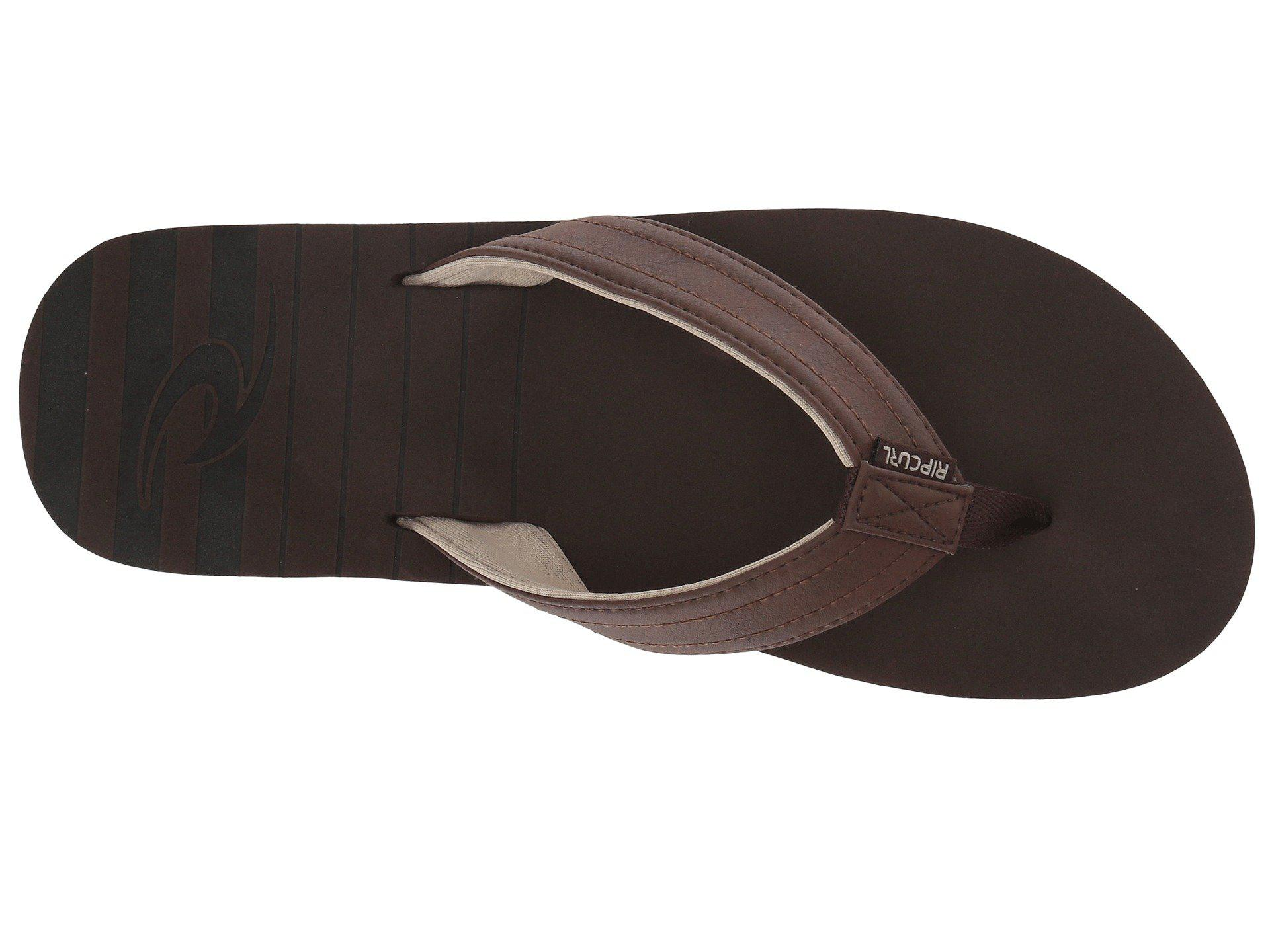 5a2a62d90c7f6a Rip Curl - Brown The Groove (chocolate) Men s Sandals for Men - Lyst. View  fullscreen