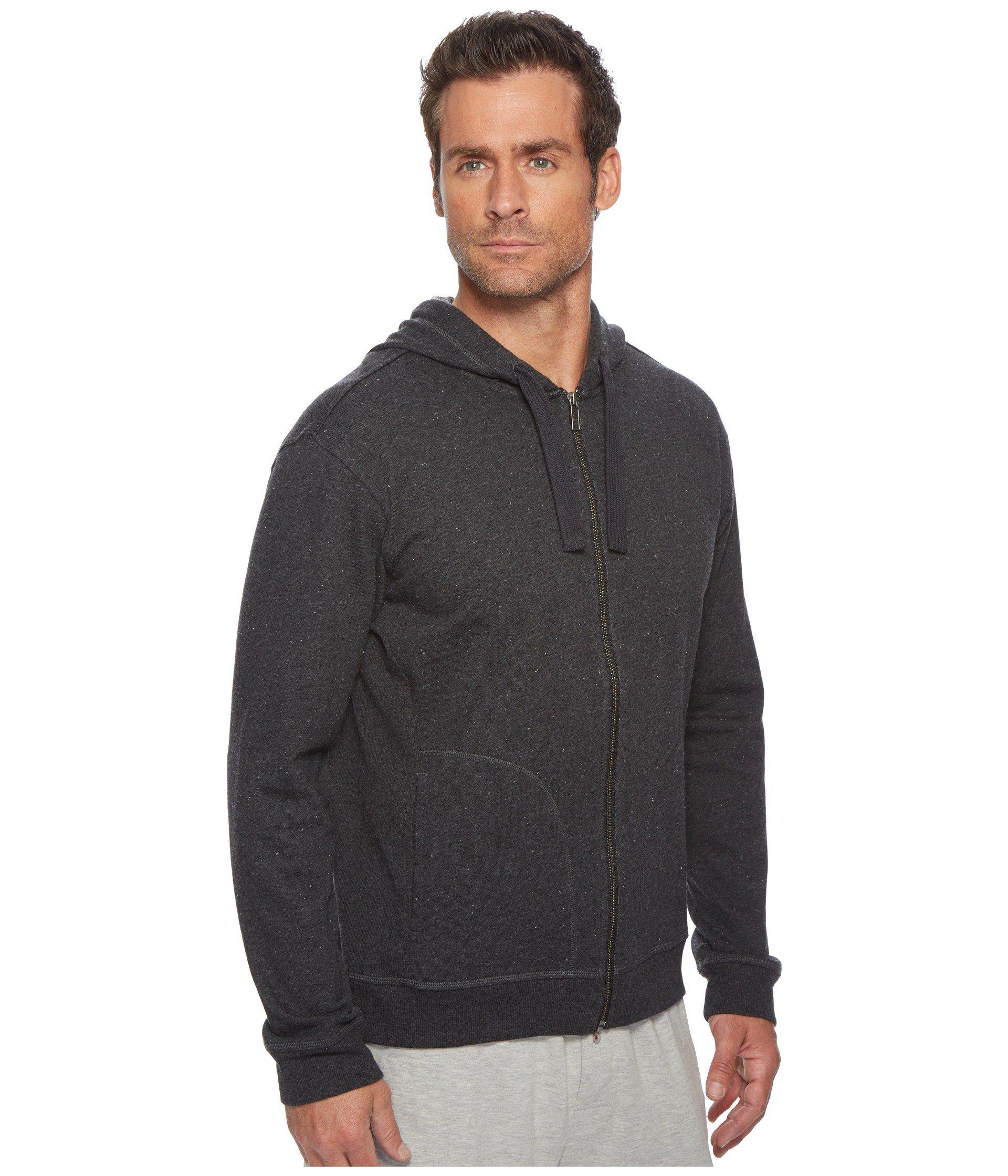 0edb1abb97b Ugg - Elliot Terry Full Zip Hoodie (black) Men s Sweatshirt for Men - Lyst.  View fullscreen