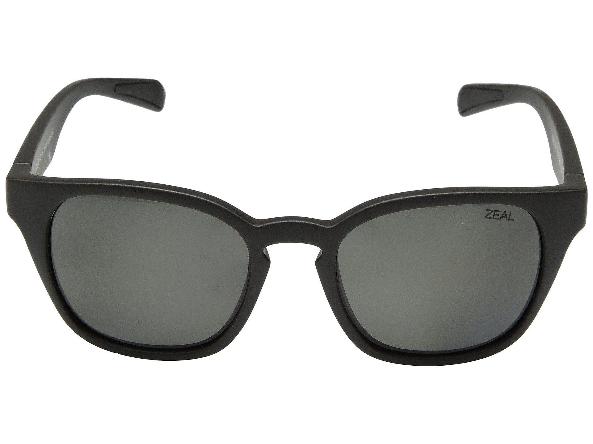 a5af86d791d Zeal Optics - Windsor (matte Black polarized Dark Grey Lens) Athletic  Performance Sport. View fullscreen
