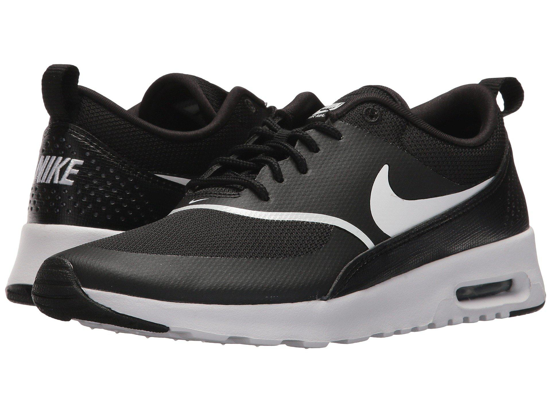 Nike Air Max Thea (stringlight Creamblackwhite) Women's Shoes