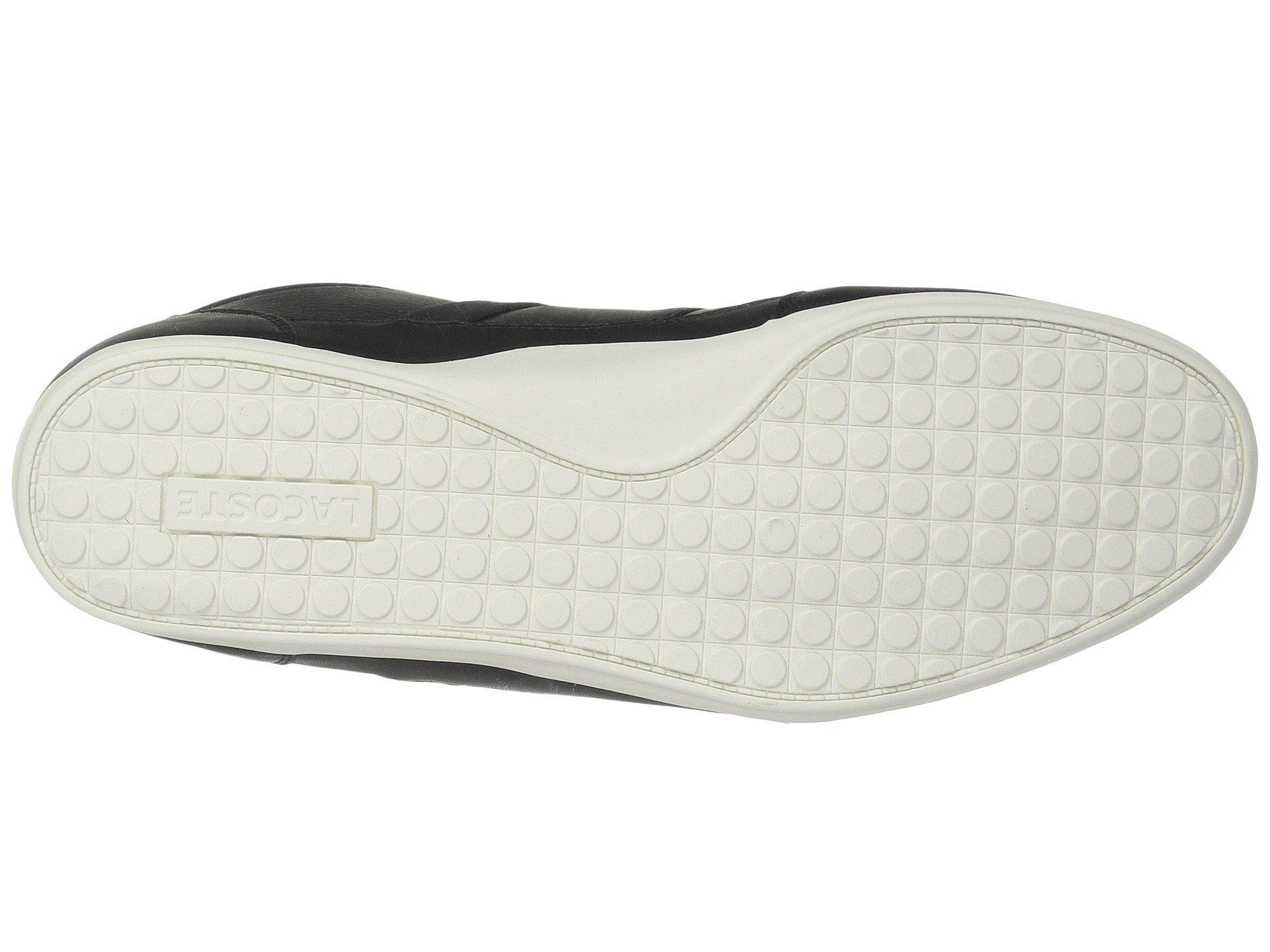 cce58728f9e1 Lyst - Lacoste Chaymon 118 2 (black red) Men s Shoes in Black for Men