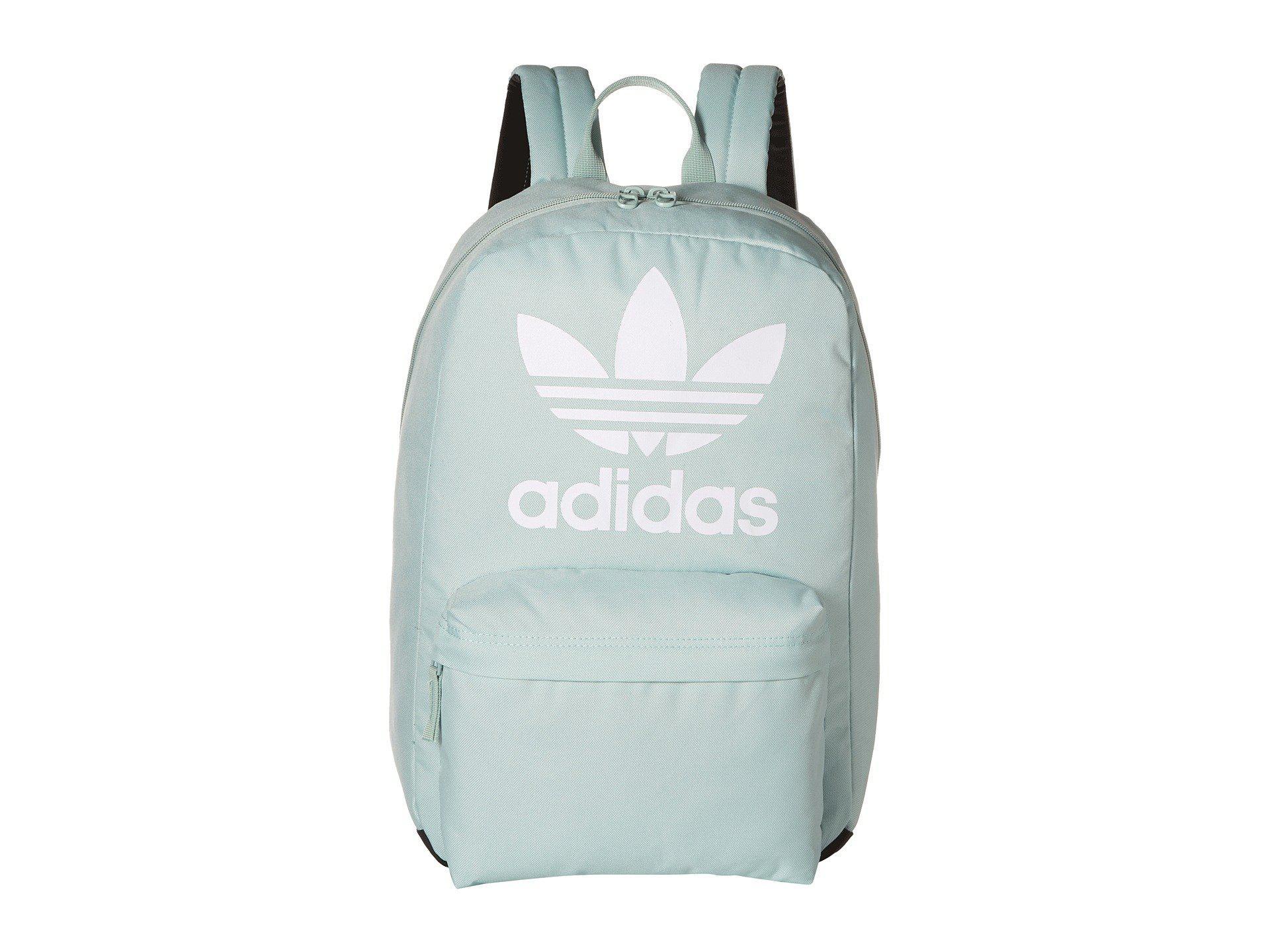 01b1ea7dd4 adidas Originals Originals Big Logo Backpack (ash Green) Backpack ...