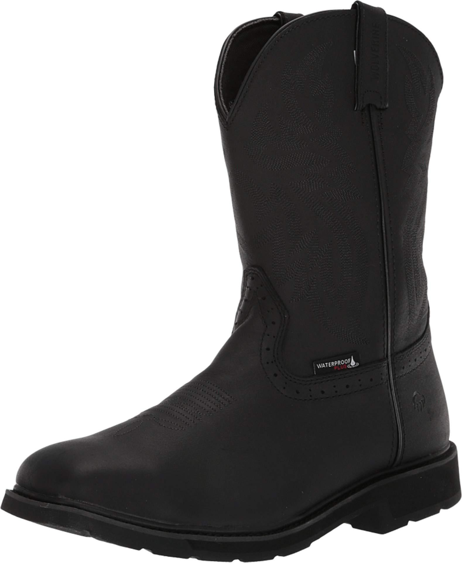 fd177d0ff36 Men's Black Rancher Steel Toe Waterproof