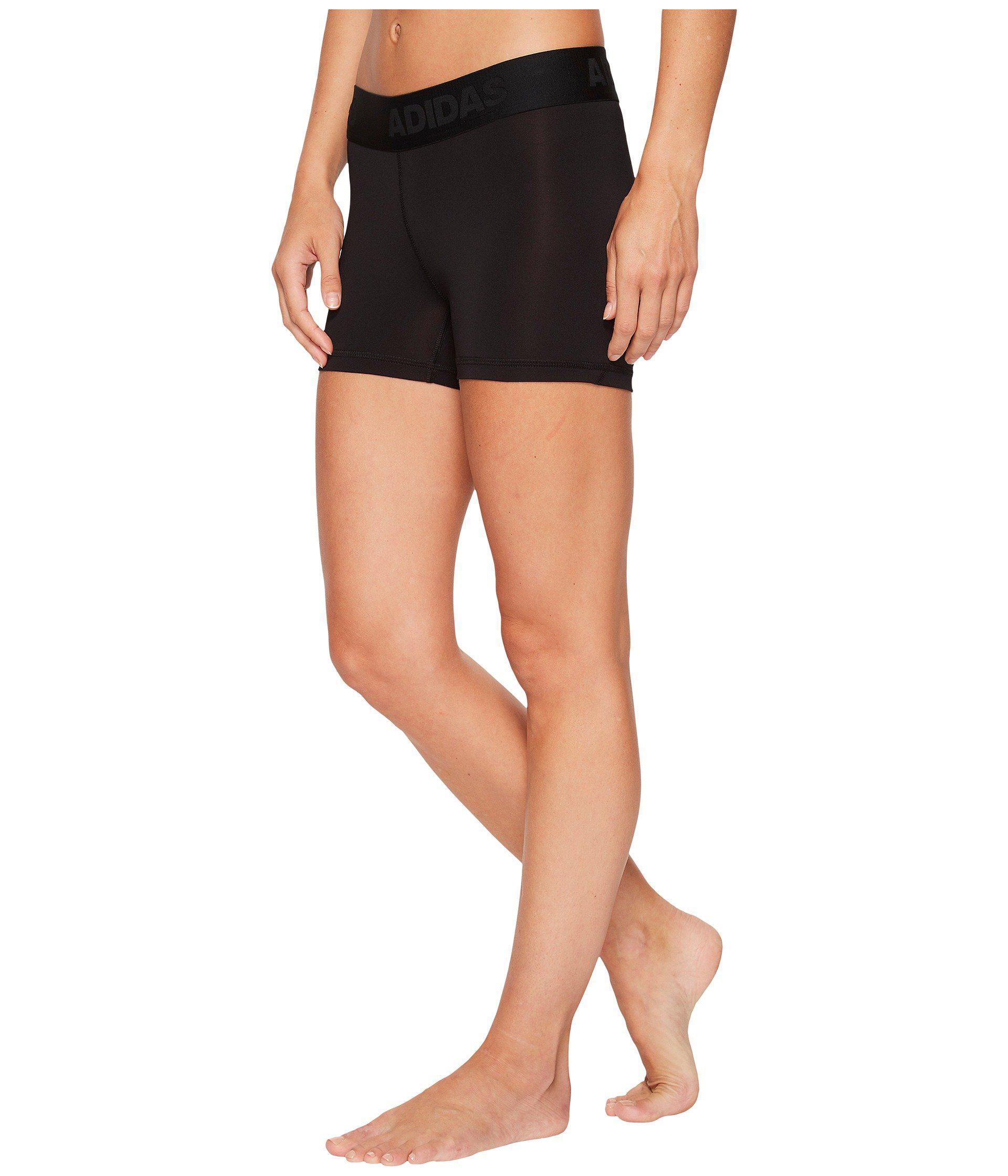 pretty nice b7883 793a3 Lyst - Adidas Alphaskin Sport 3 Short Tights (dark Grey Heatherblack)  Womens Shorts in Black