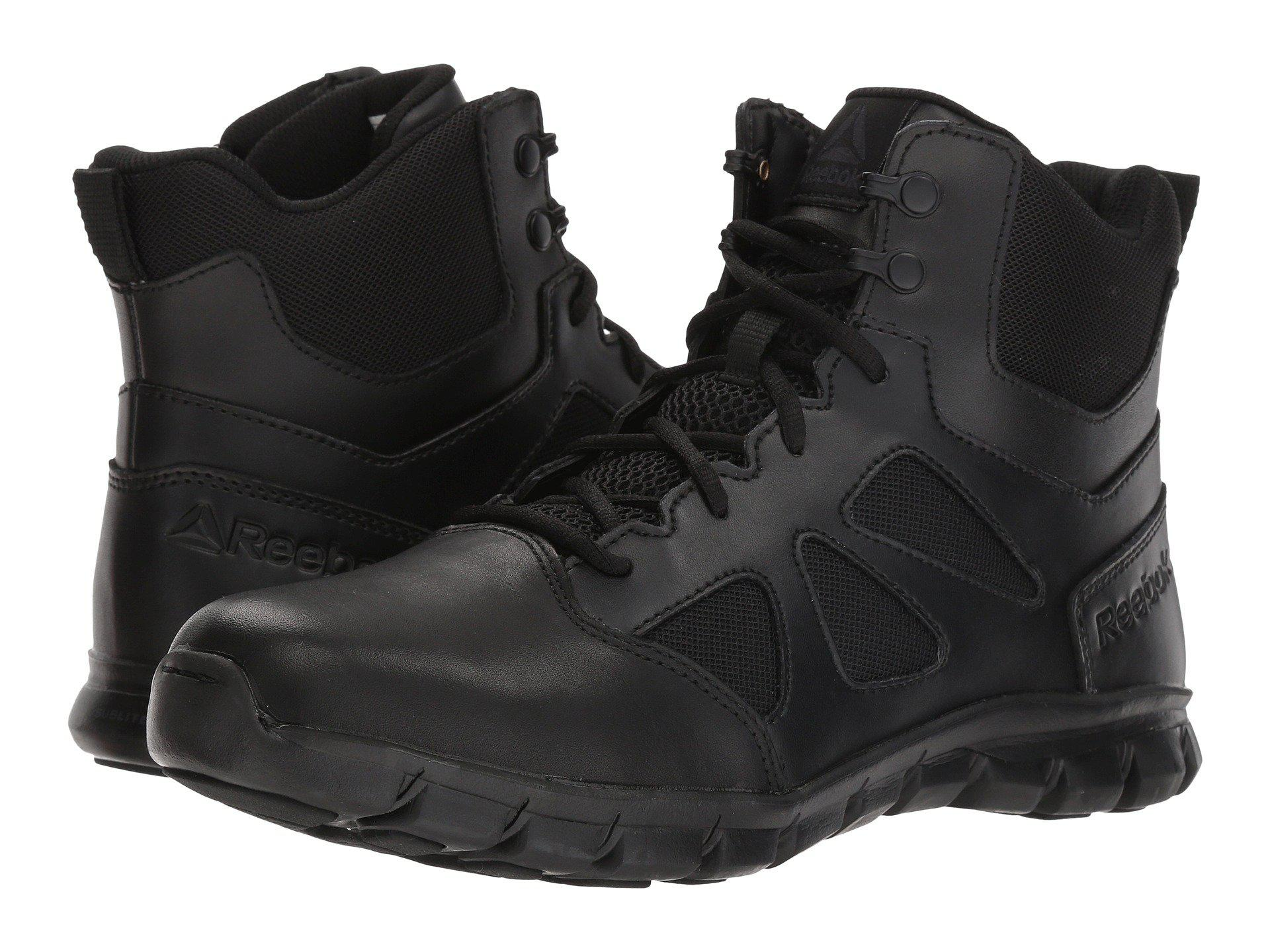 4113010e3749 Lyst - Reebok Sublite Cushion Tactical 6 Boot (black) Men s Boots in ...