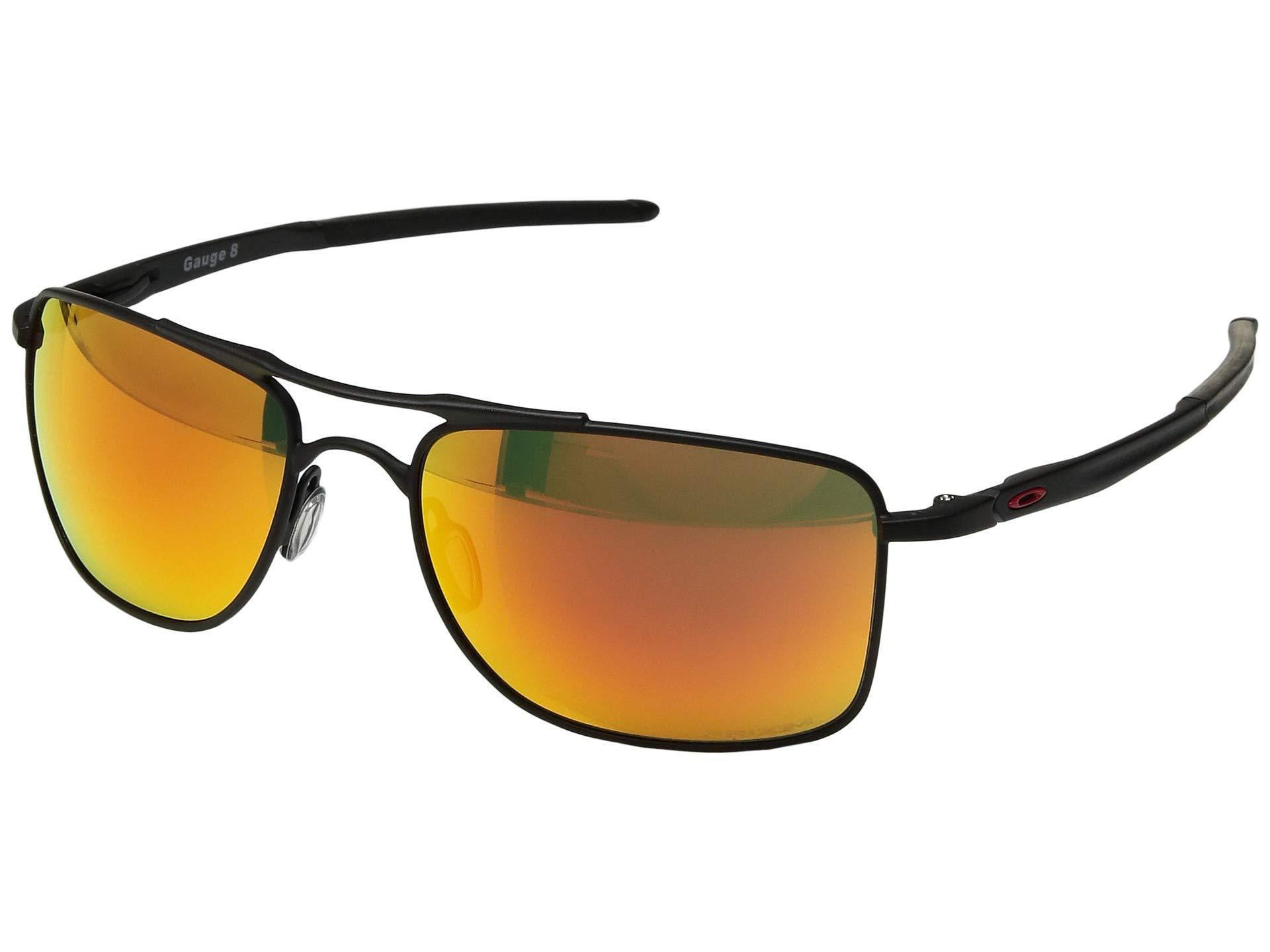 ca595eef31 Lyst - Oakley Gauge 8 (matte Black prizm Ruby) Sport Sunglasses in ...