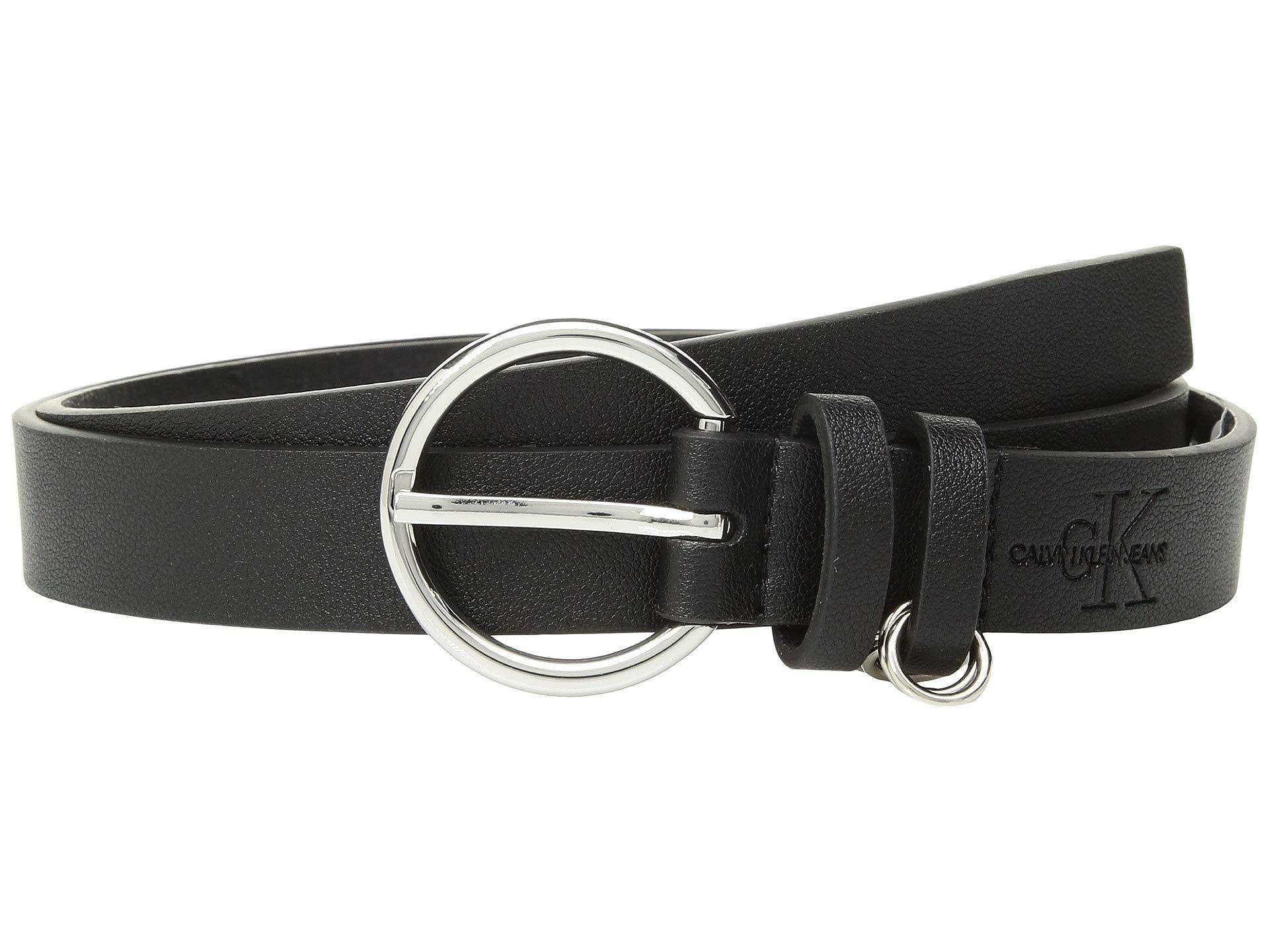 """Slim Mens Ladies 1/""""25mm Genuine Leather Lined Belt Nickel Buckle Black Belts"""