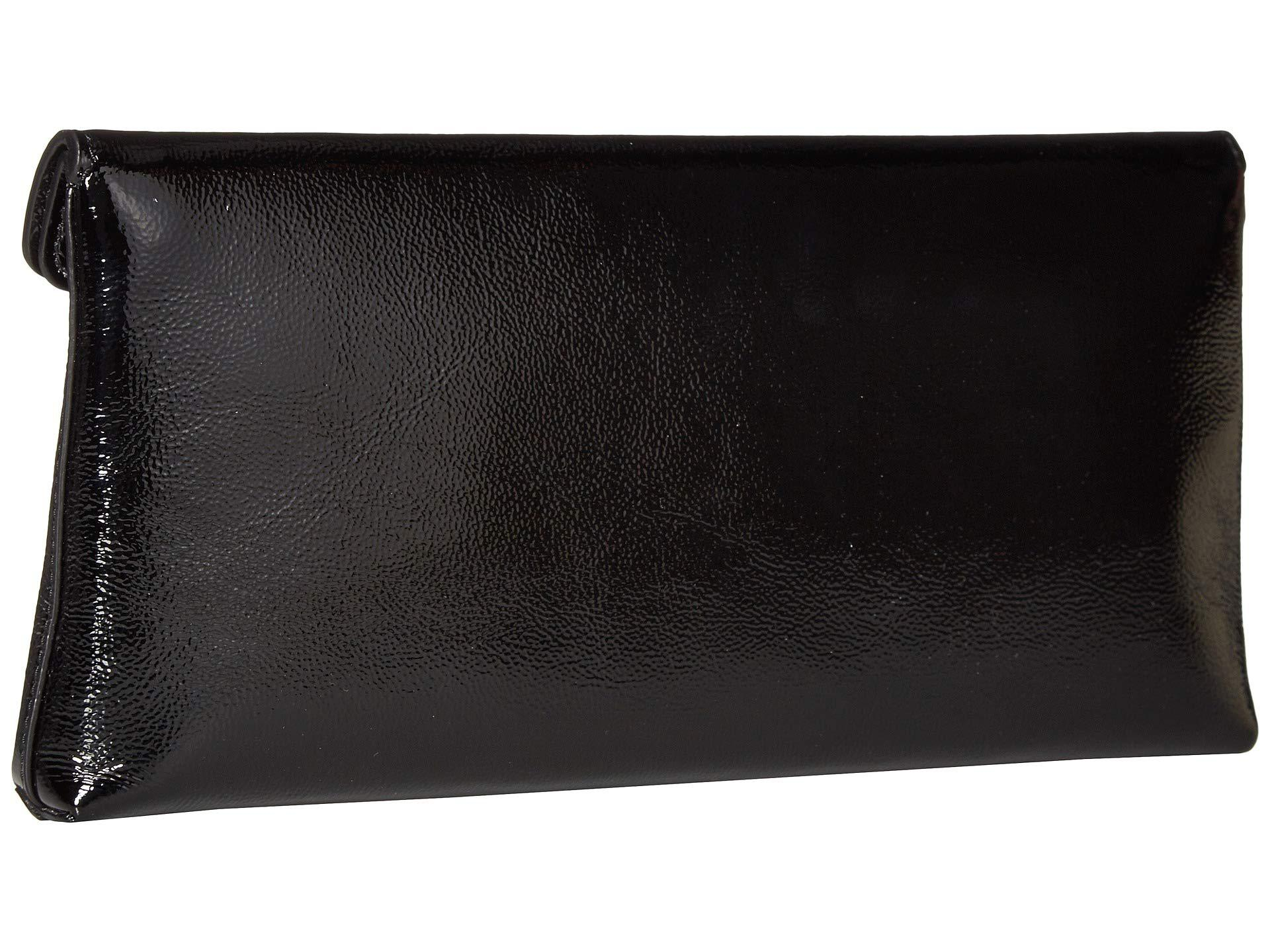 f5850d2c50cb Tory Burch - Miller Patent Clutch (black) Clutch Handbags - Lyst. View  fullscreen